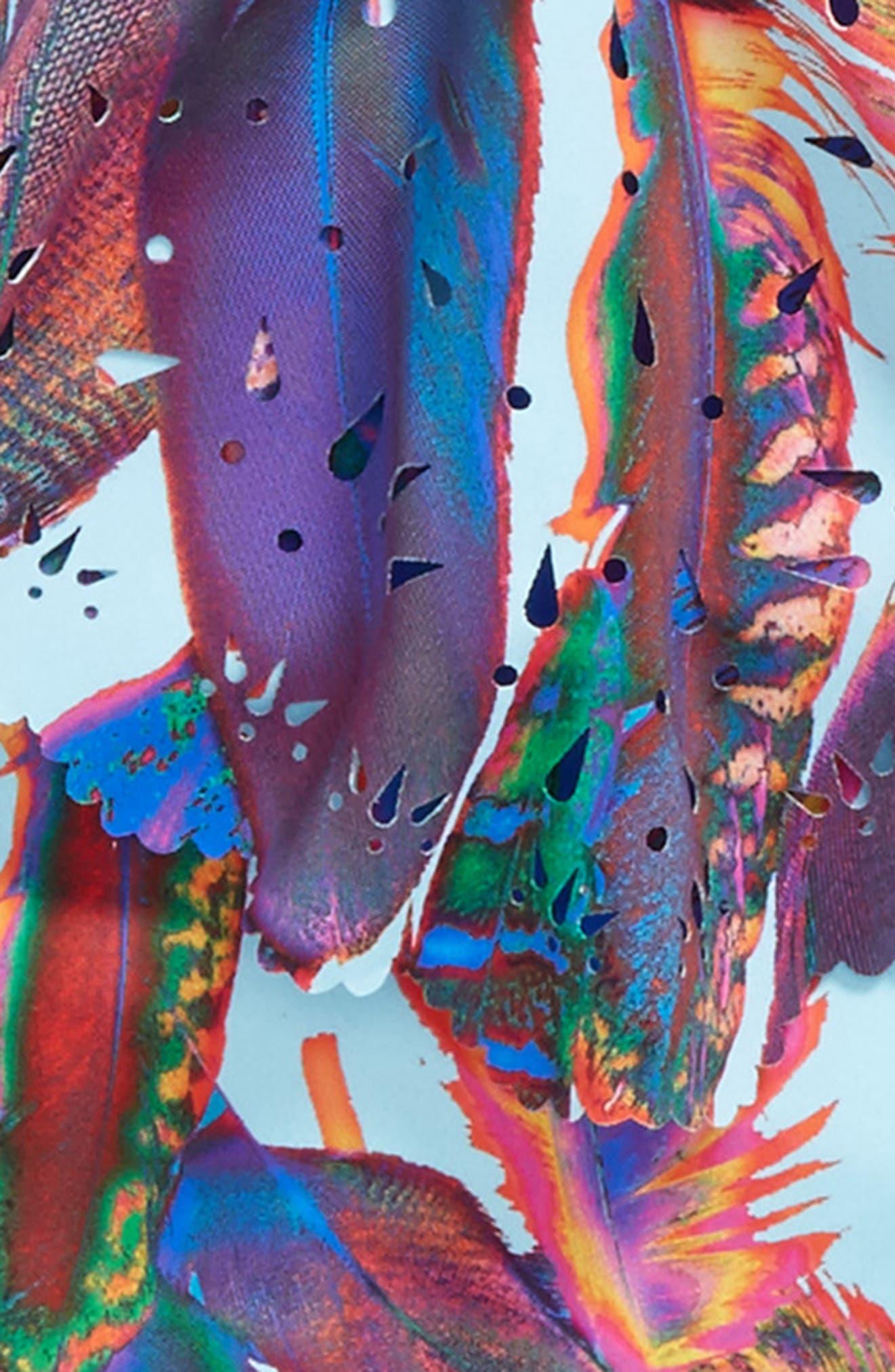 Laser Cut One-Piece Swimsuit,                             Alternate thumbnail 2, color,                             Vida