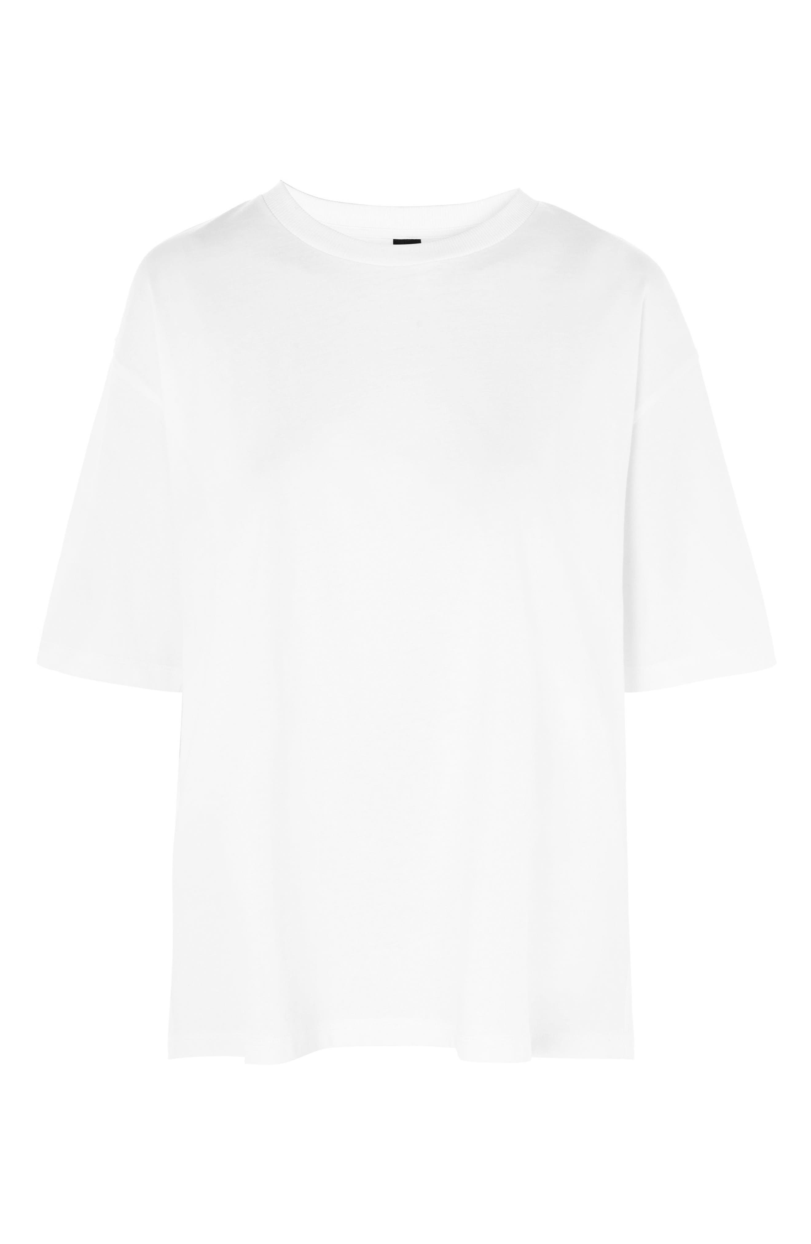 Boxy T-Shirt,                         Main,                         color, White