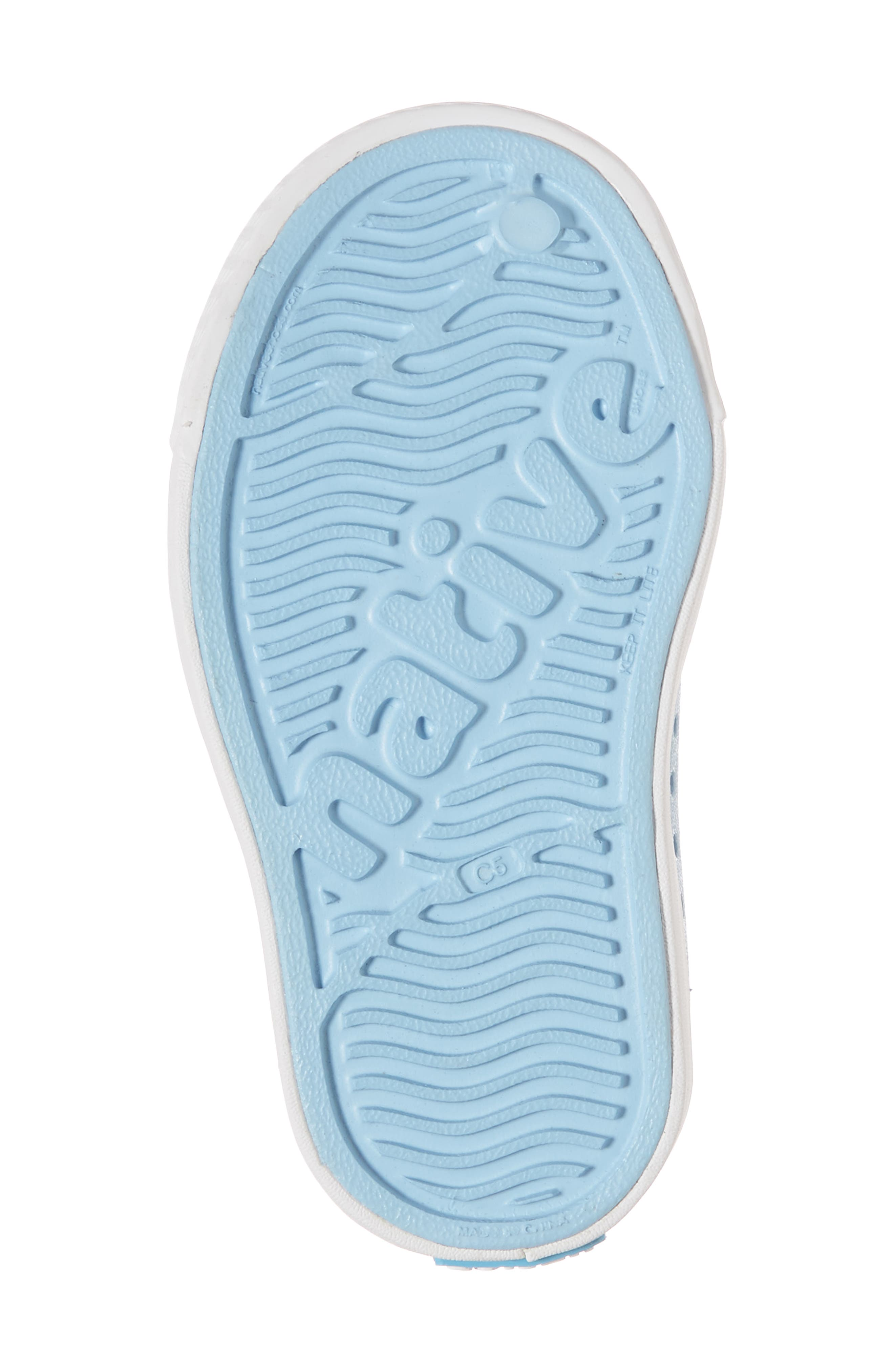 Juniper Perforated Mary Jane,                             Alternate thumbnail 6, color,                             Sky Blue/ White/ Galaxy