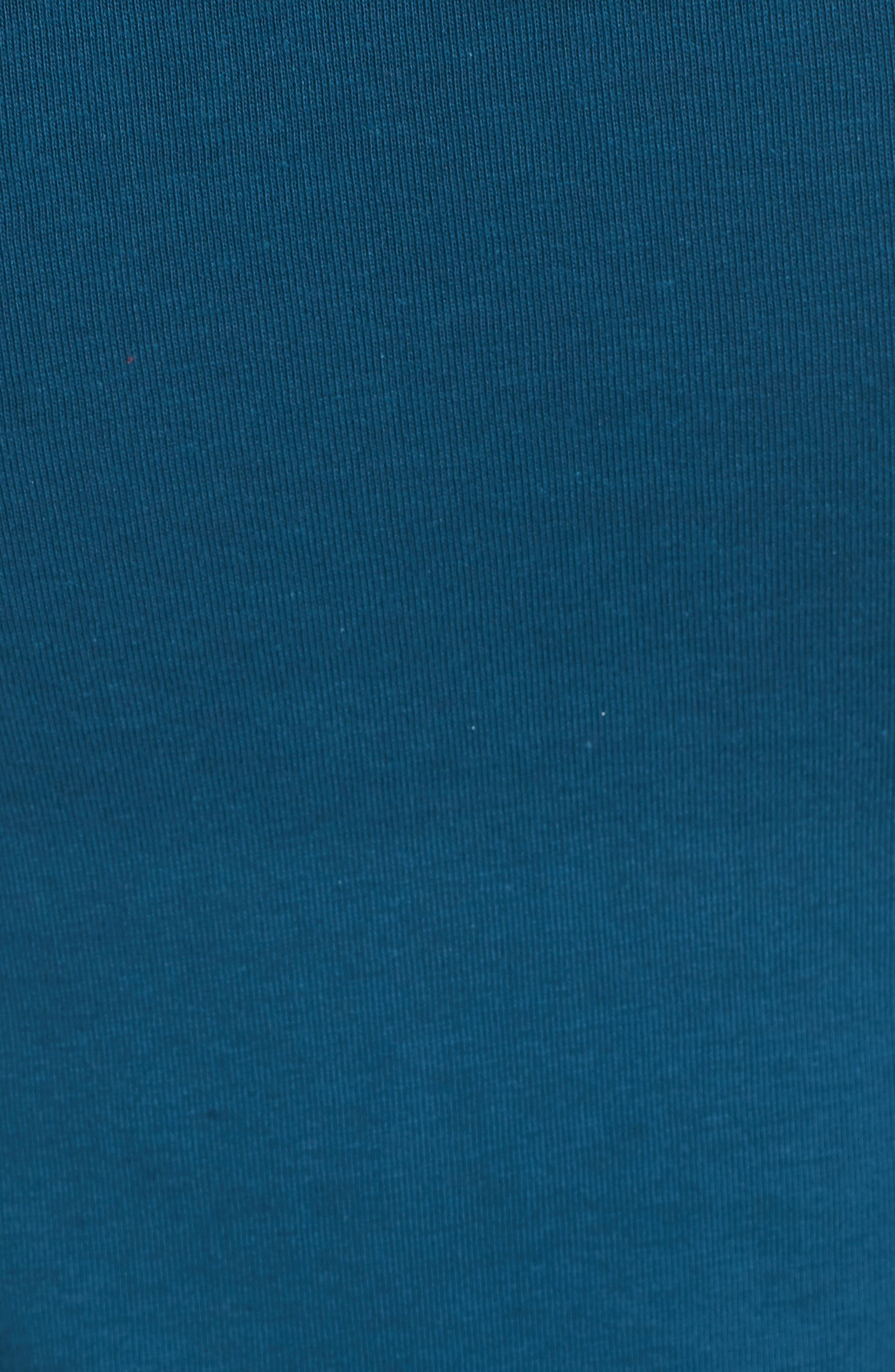Ruched Body-Con Tank Dress,                             Alternate thumbnail 6, color,                             Teal Seagate