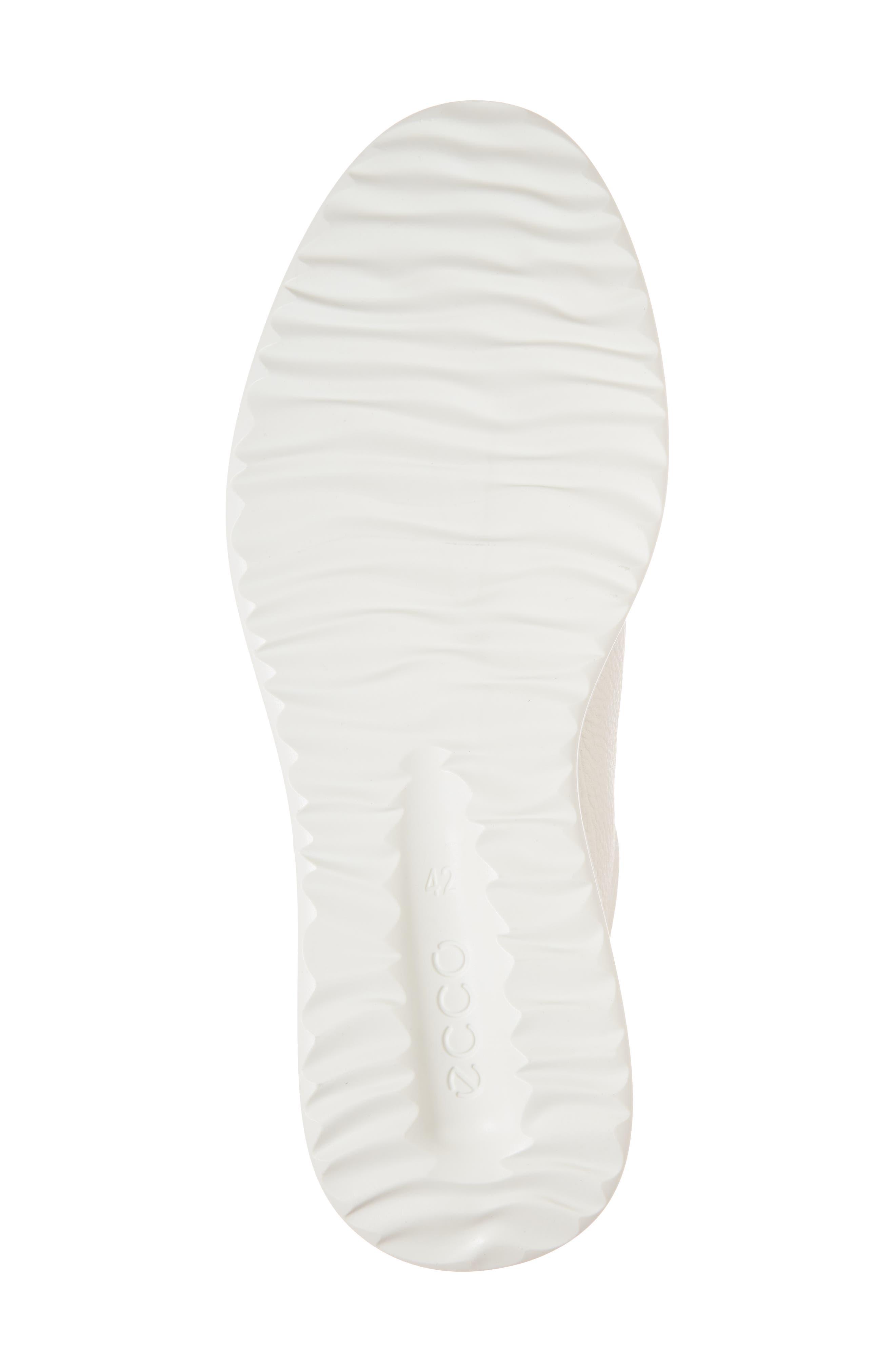 Aquet Low Top Sneaker,                             Alternate thumbnail 6, color,                             White Leather