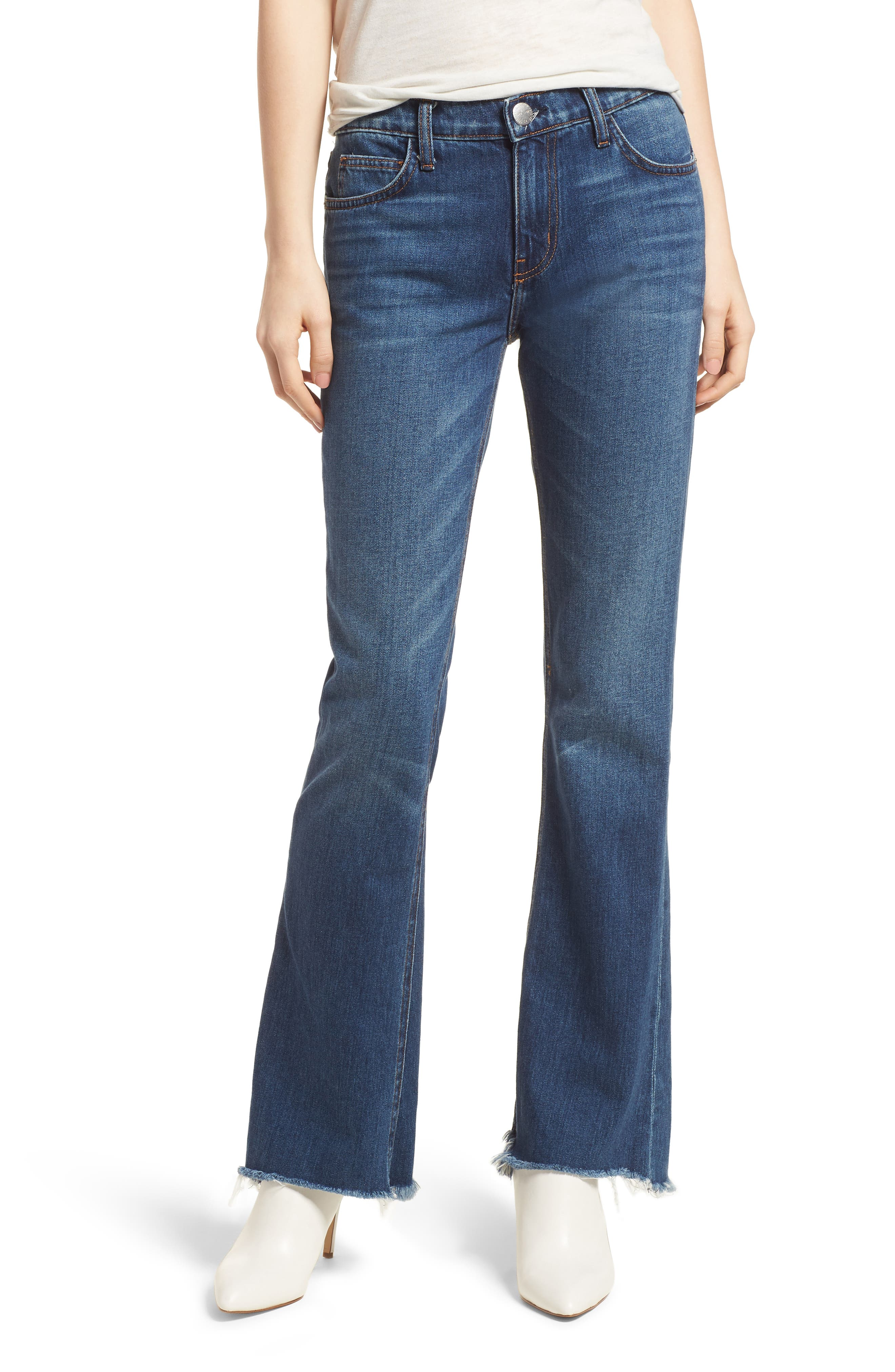 The Flip Flop Flare Jeans,                             Main thumbnail 1, color,                             Westry