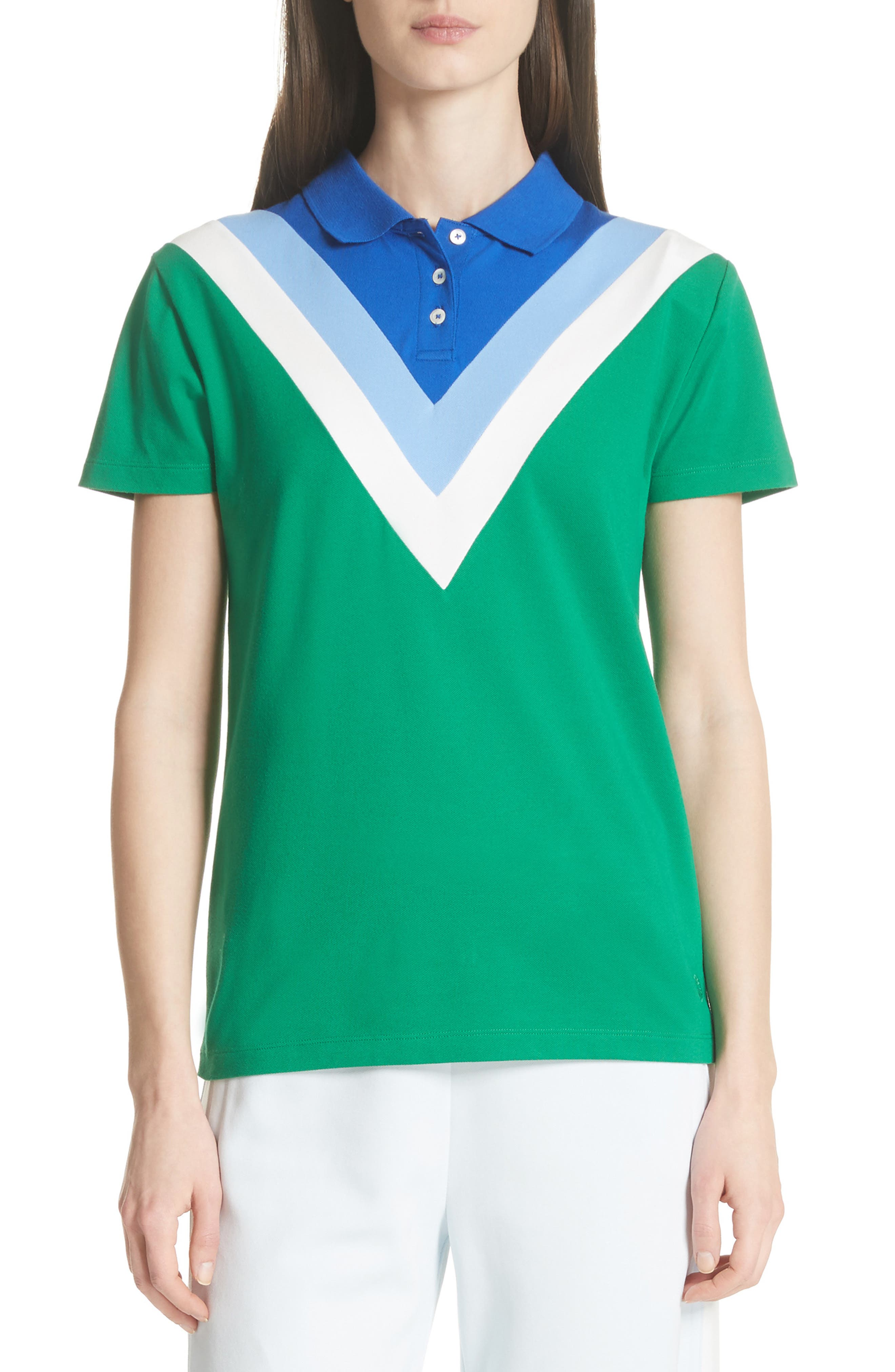 Chevron Polo,                         Main,                         color, Vineyard