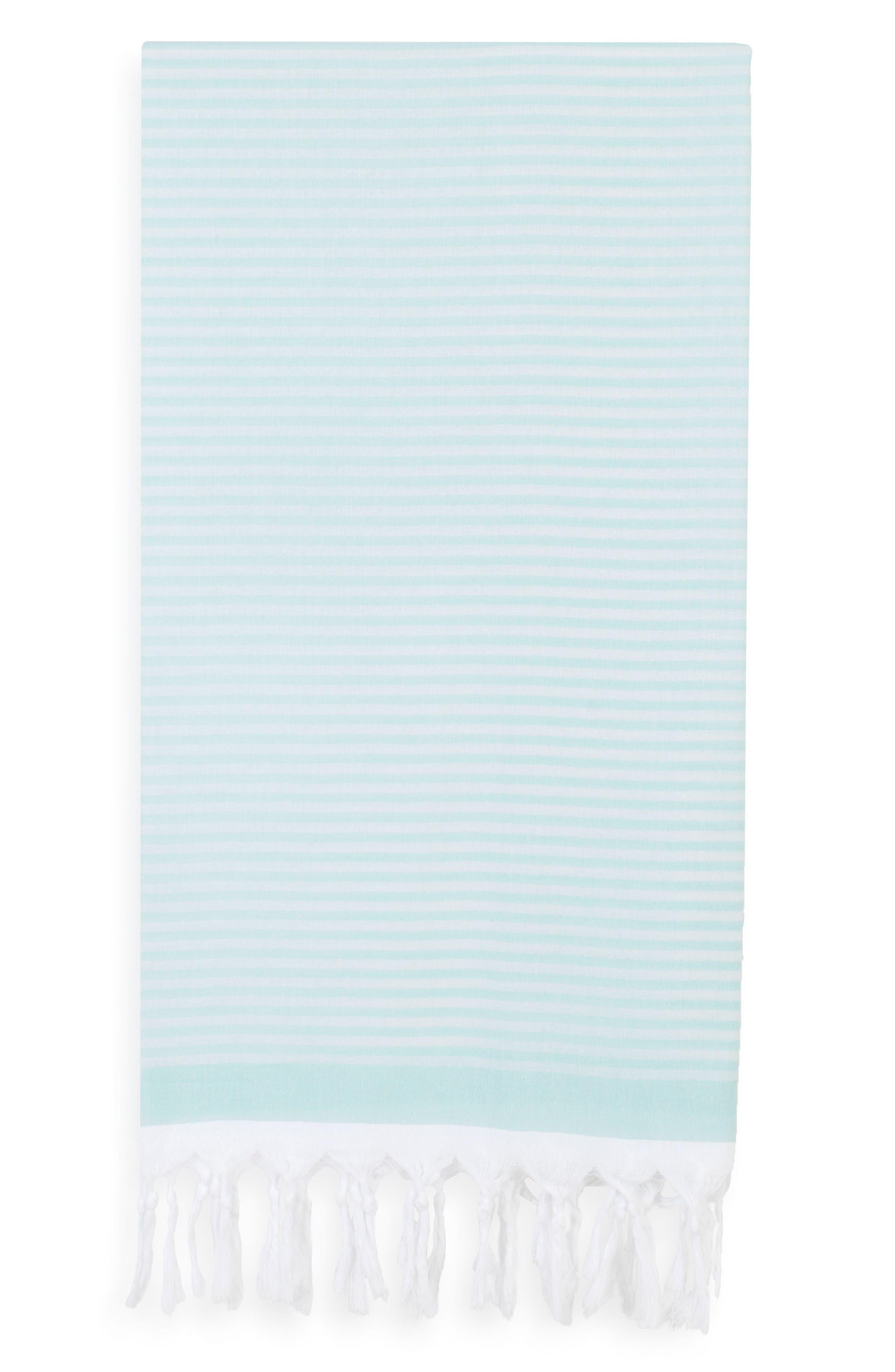 Linum Home Textiles Soft Stripes Turkish Pestemal Towel