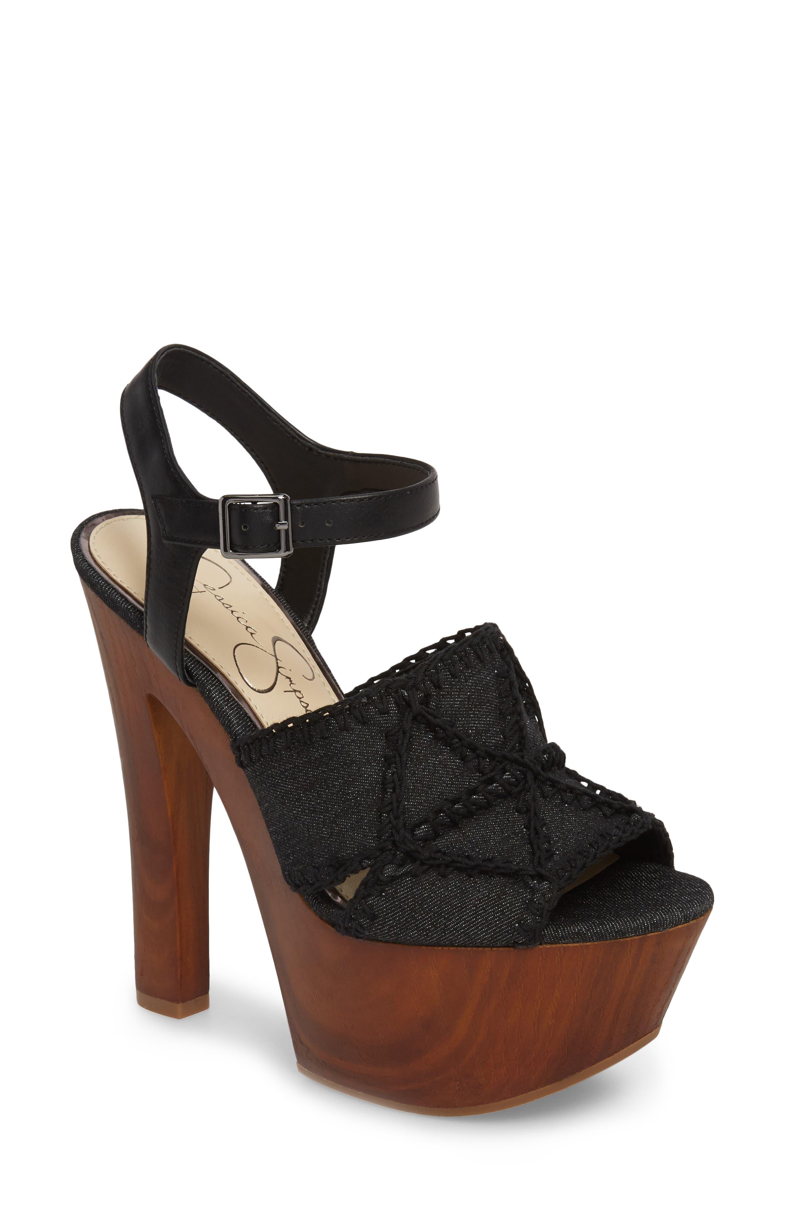 Jessica Simpson Dezzie Platform Sandal (Women)