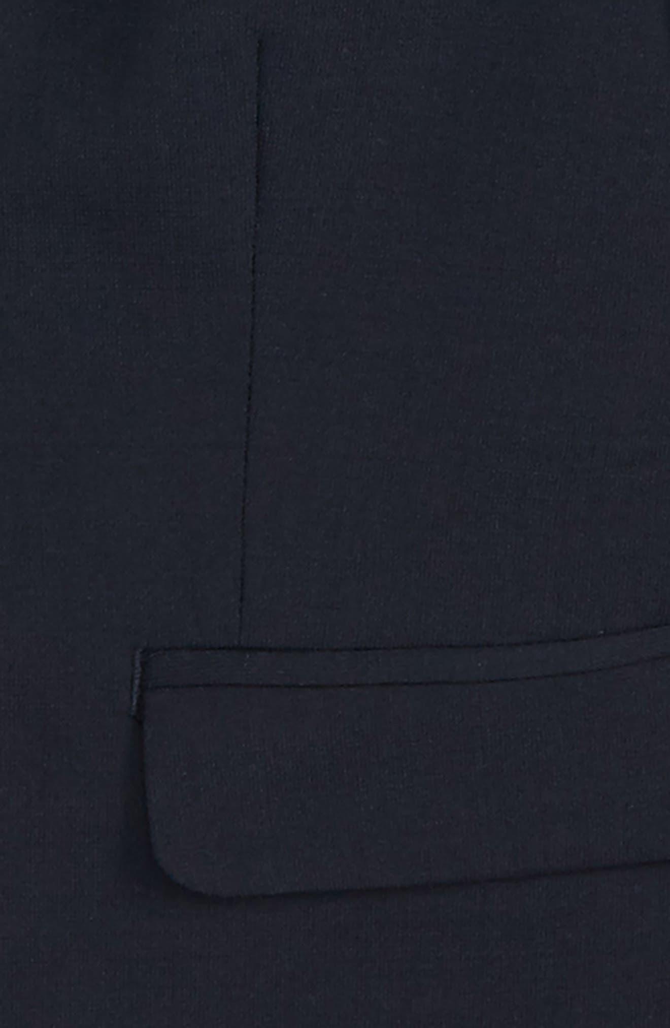 Solid Wool Blend Sport Coat,                             Alternate thumbnail 2, color,                             Navy