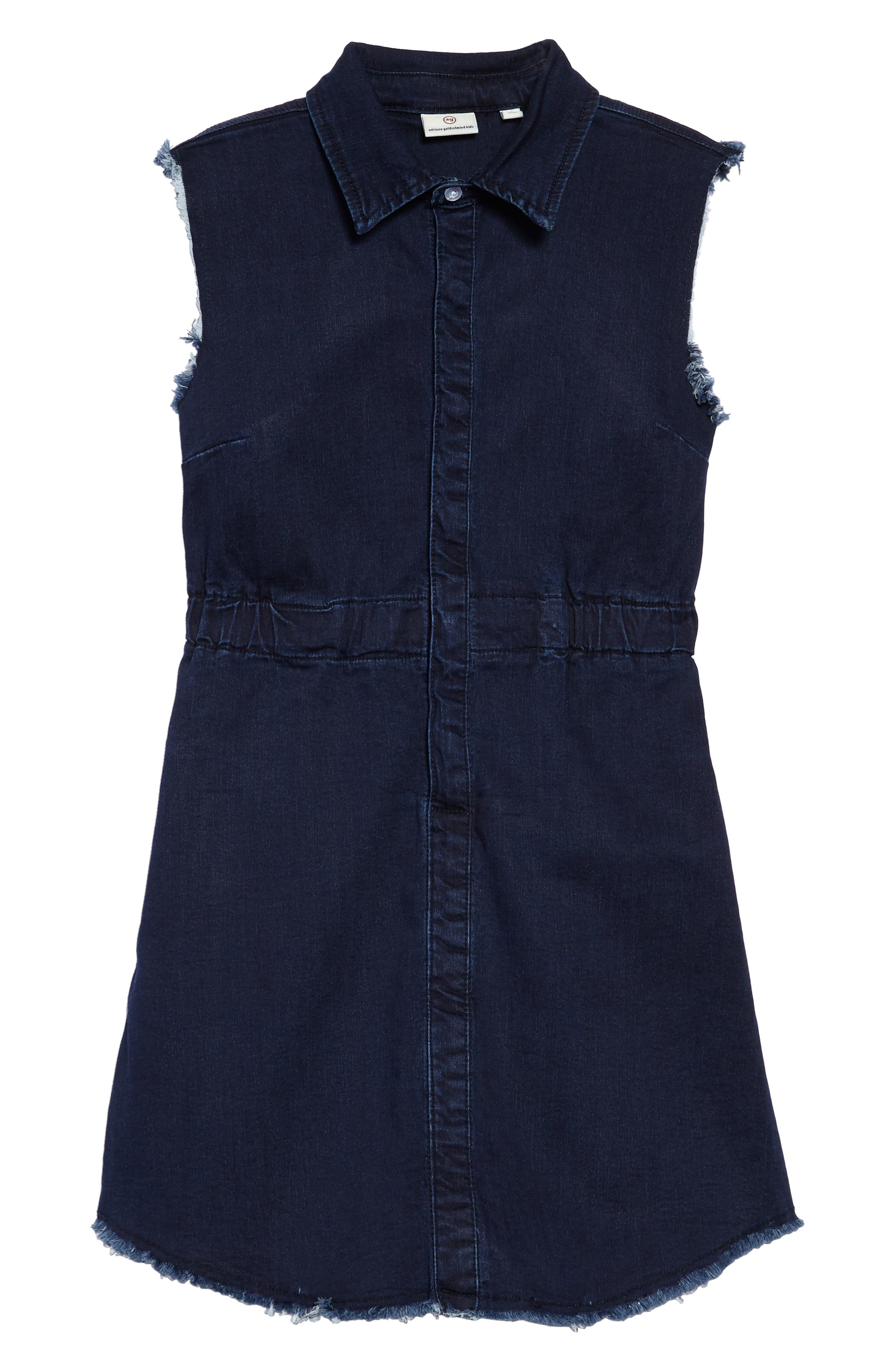 Main Image - ag adriano goldschmied kids Rosanna Chambray Dress (Big Girls)