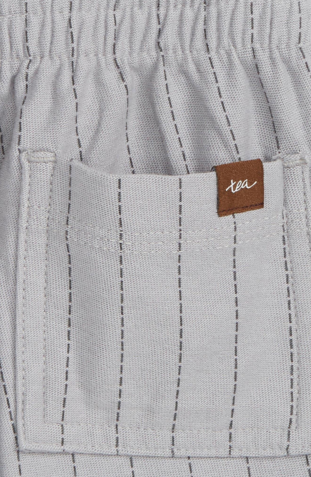Stripe Shorts,                             Alternate thumbnail 3, color,                             Storm Grey Ticking Stripe
