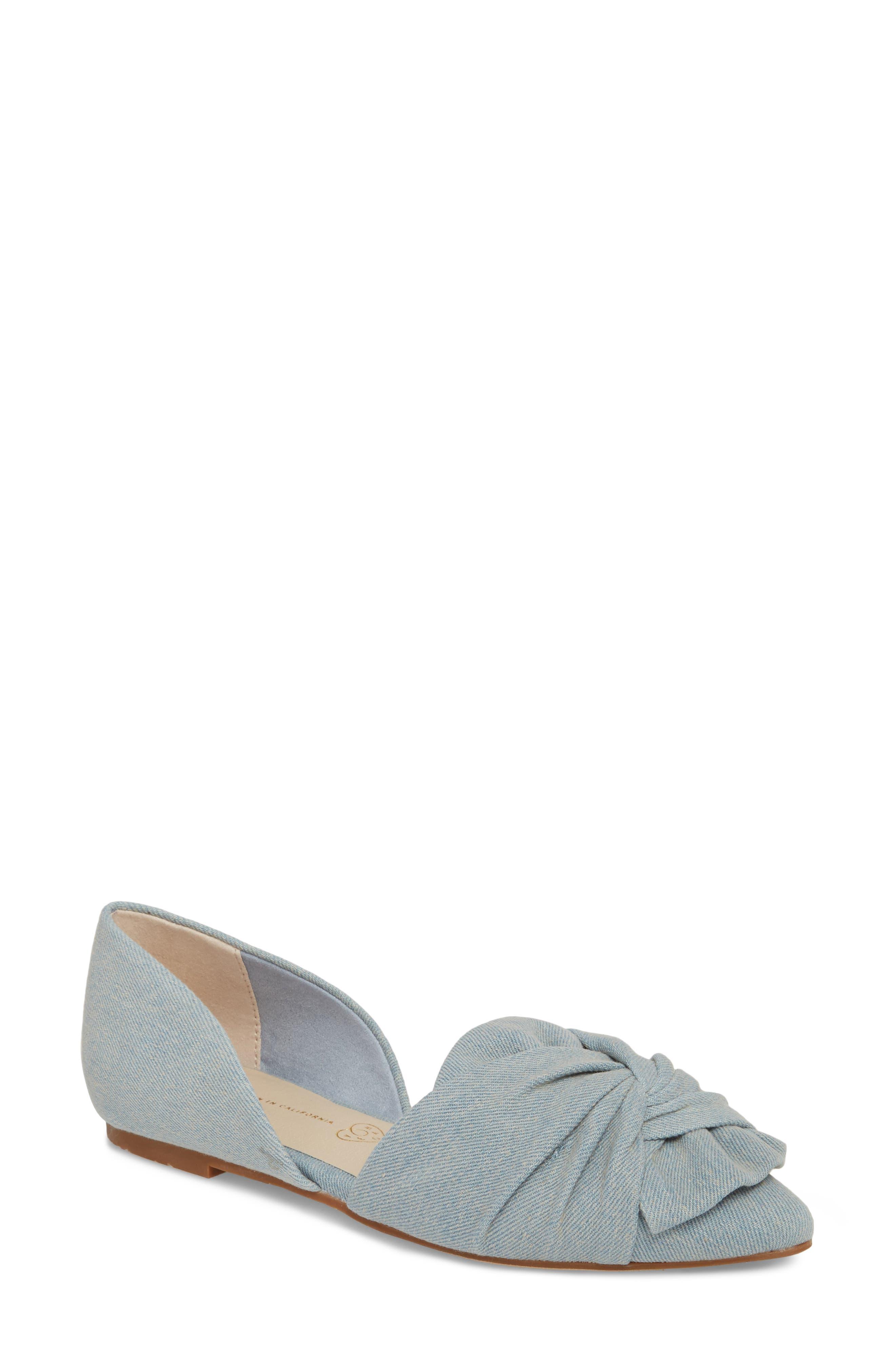BC Footwear Snow Cone d'Orsay Flat (Women)