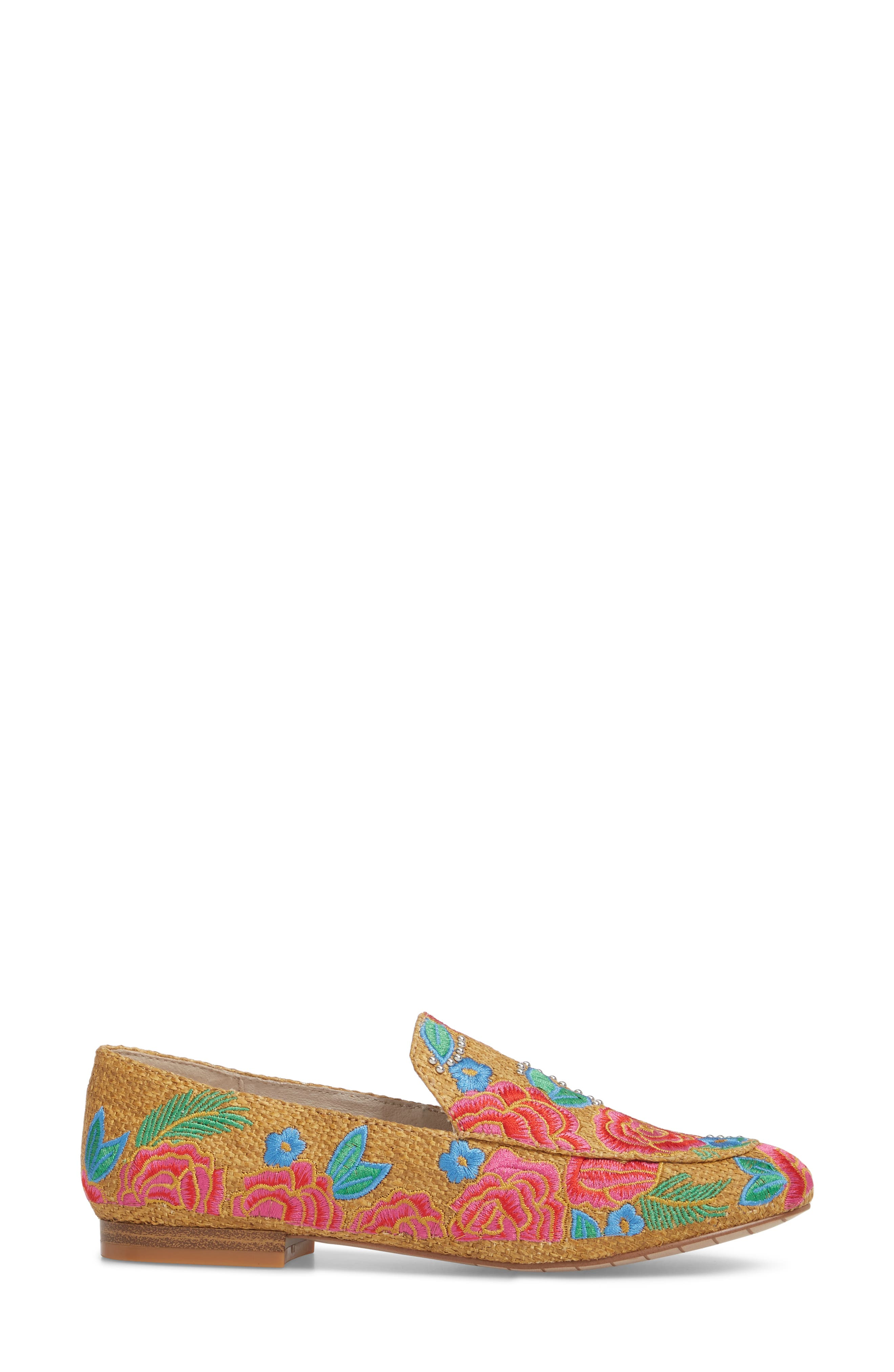 Westley Slip-On,                             Alternate thumbnail 3, color,                             Natural Raffia Fabric