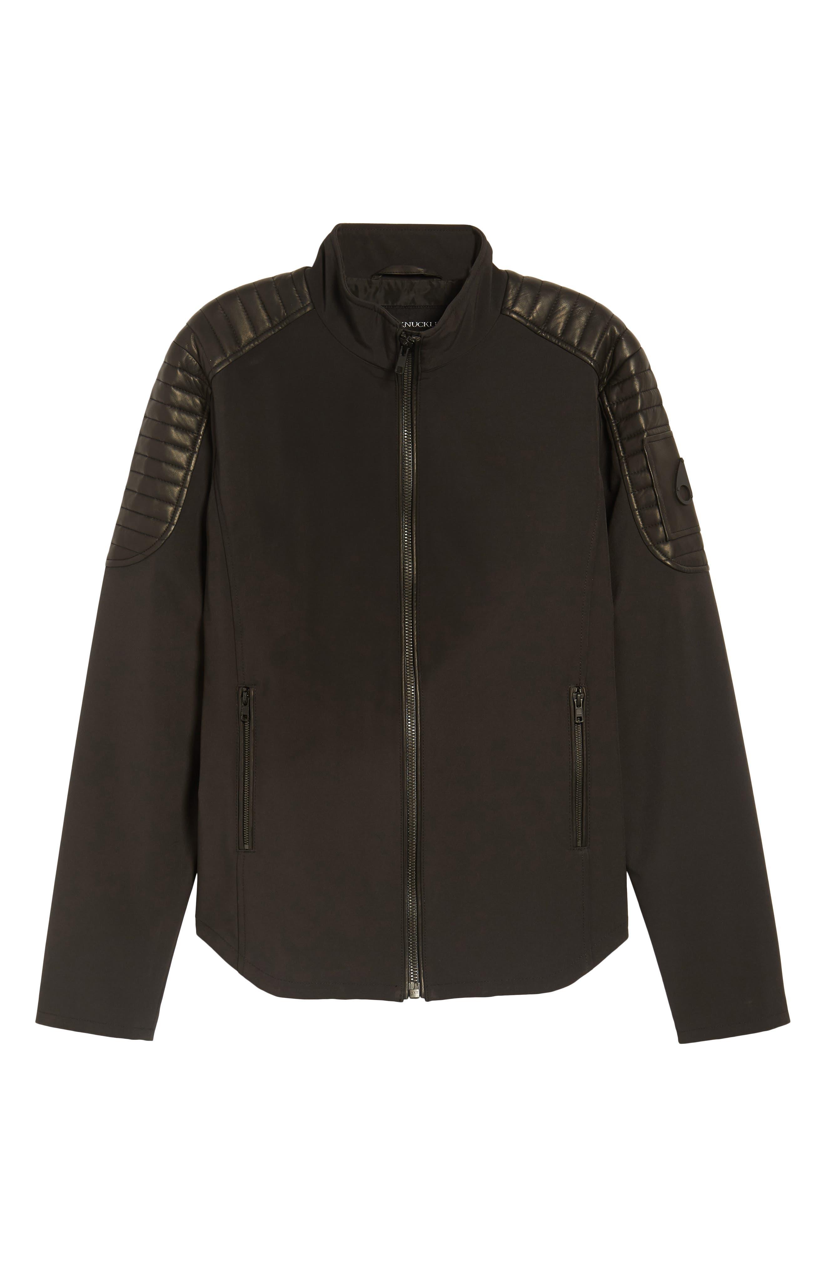 Grindstone Water Repellent Jacket,                             Alternate thumbnail 6, color,                             Black