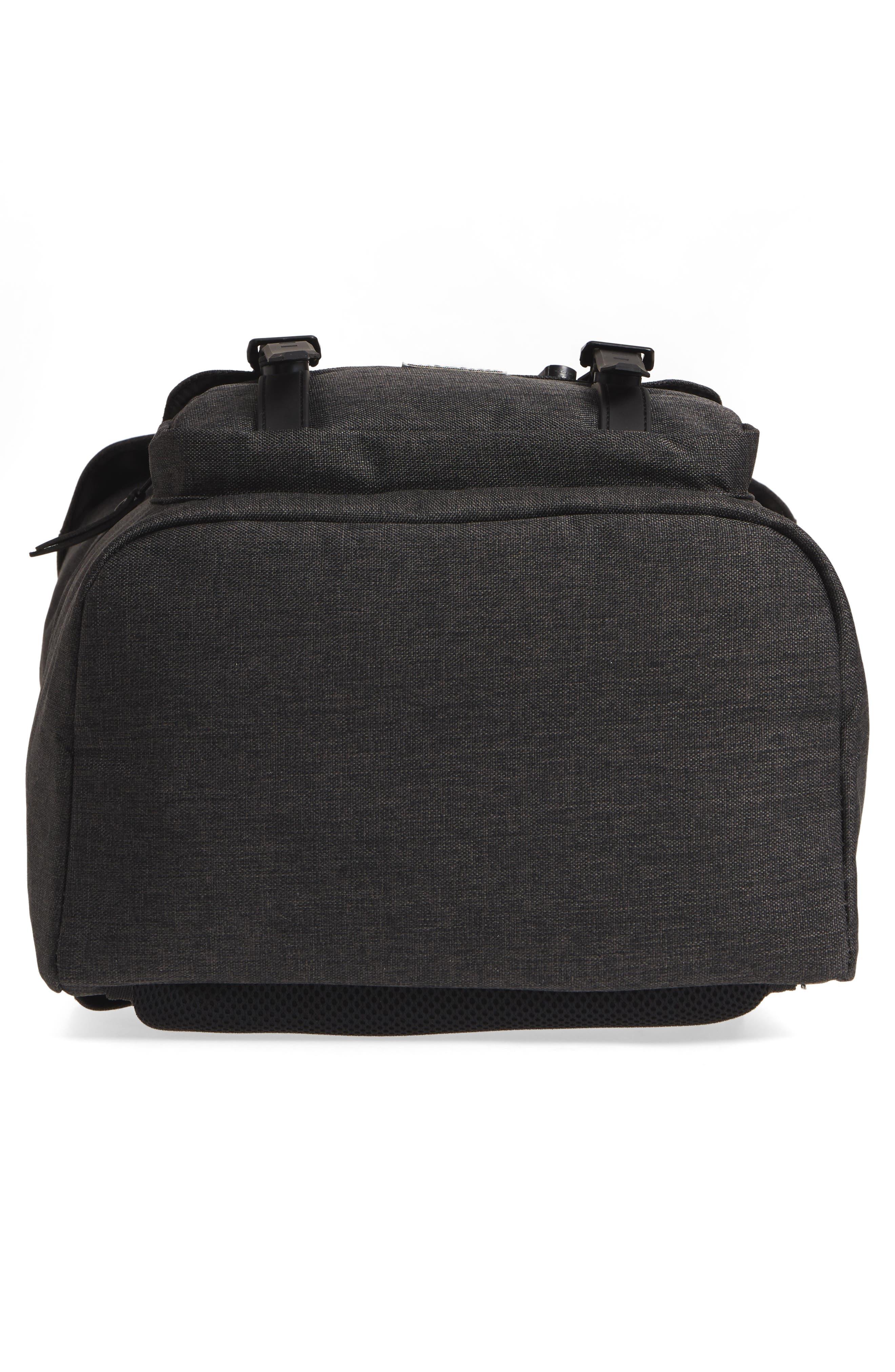 Little America - Reflective Backpack,                             Alternate thumbnail 6, color,                             Black Crosshatch/ Reflective