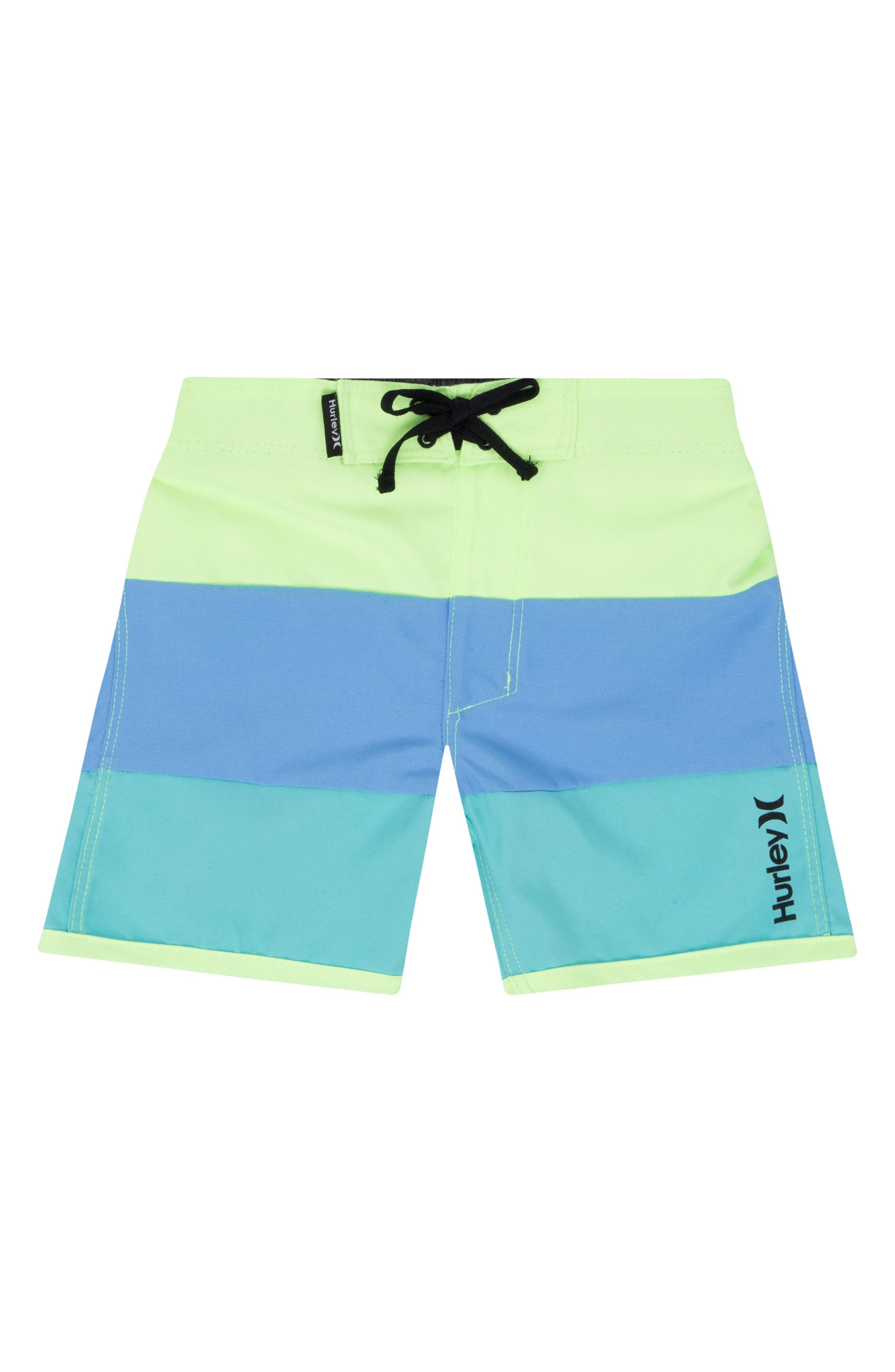 Triple Threat Board Shorts,                         Main,                         color, Ghost Green