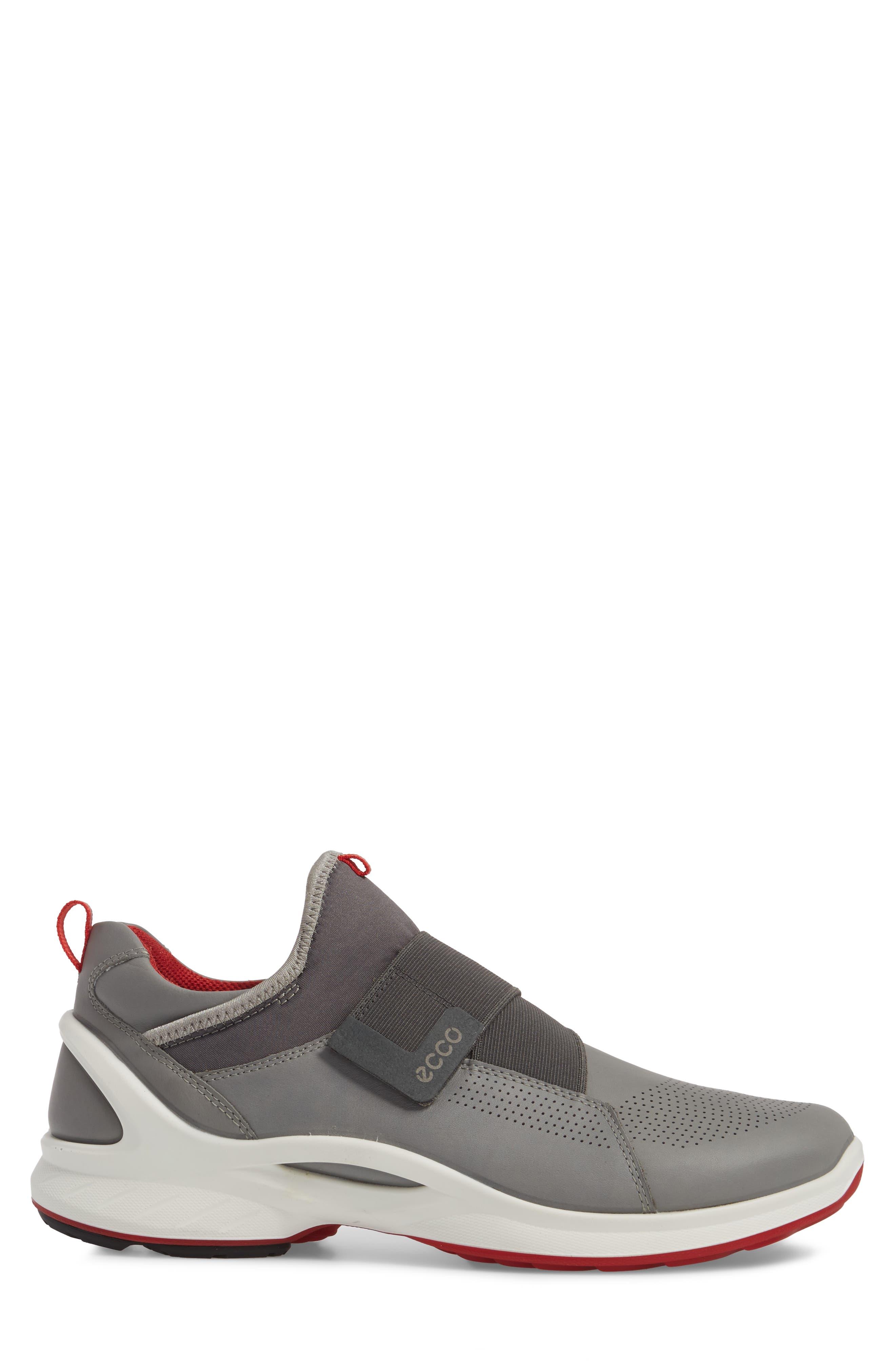 BIOM Fjuel Band Sneaker,                             Alternate thumbnail 3, color,                             Dark Shadow/ Titanium Leather