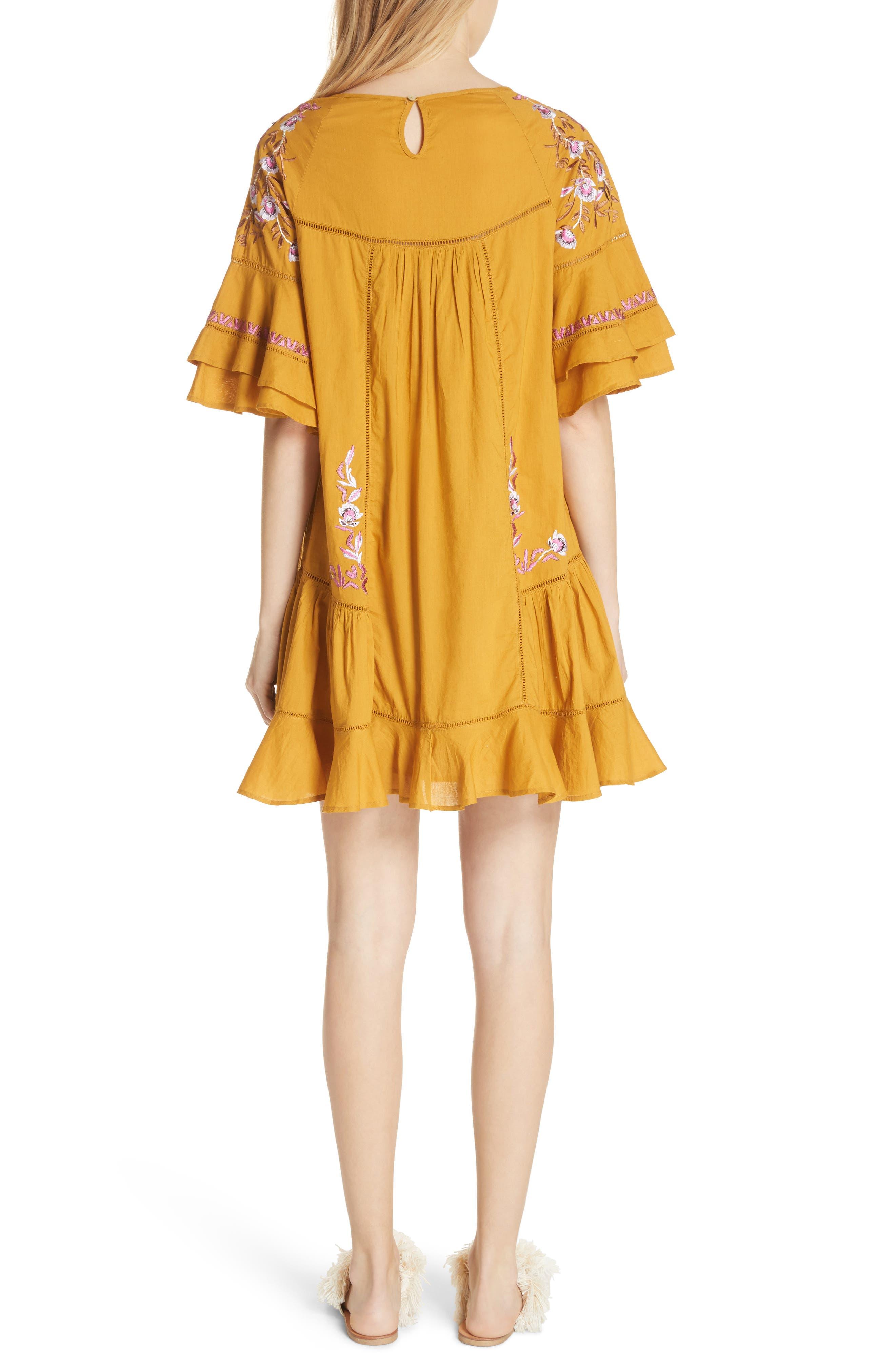 Alternate Image 2  - Free People Pavlo Babydoll Dress