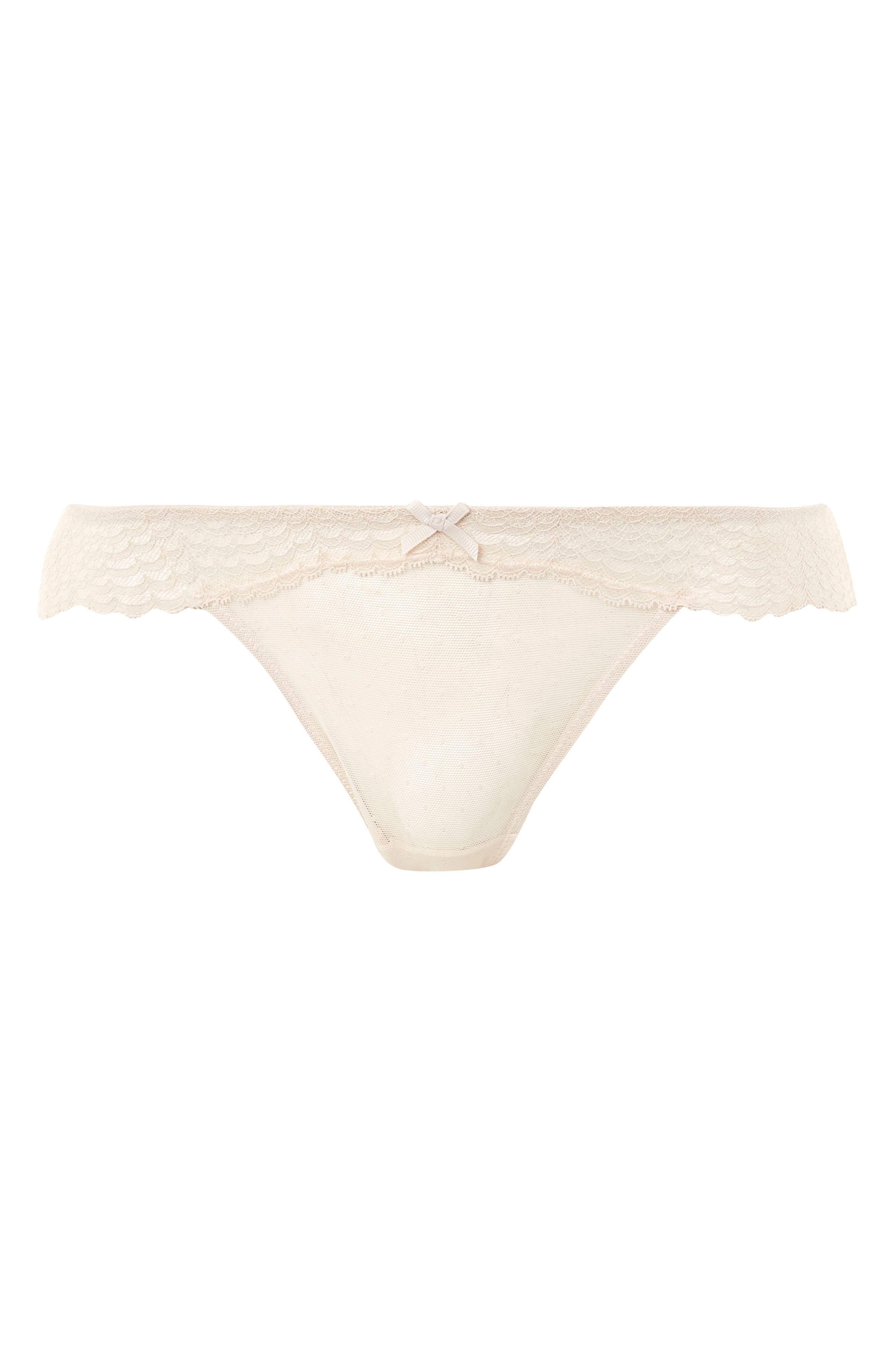 Marie Lace Panties,                             Alternate thumbnail 5, color,                             Ivory