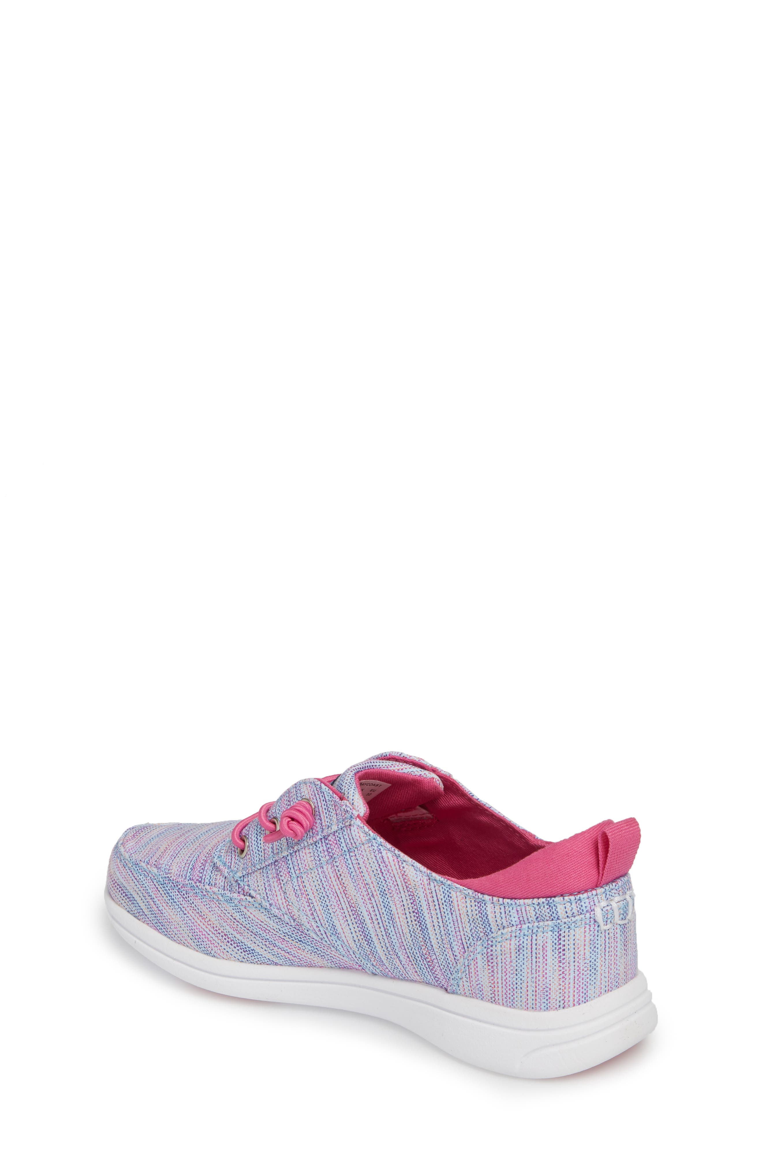 Baycoast Slip-On Sneaker,                             Alternate thumbnail 2, color,                             Blue Multi
