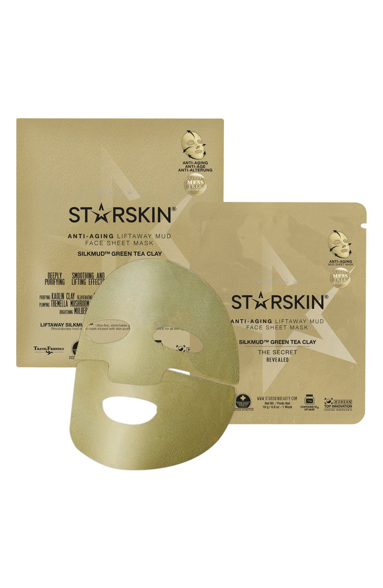 Starskin® Silkmud Green Tea Clay Anti-Aging Liftaway Mud Face Mask