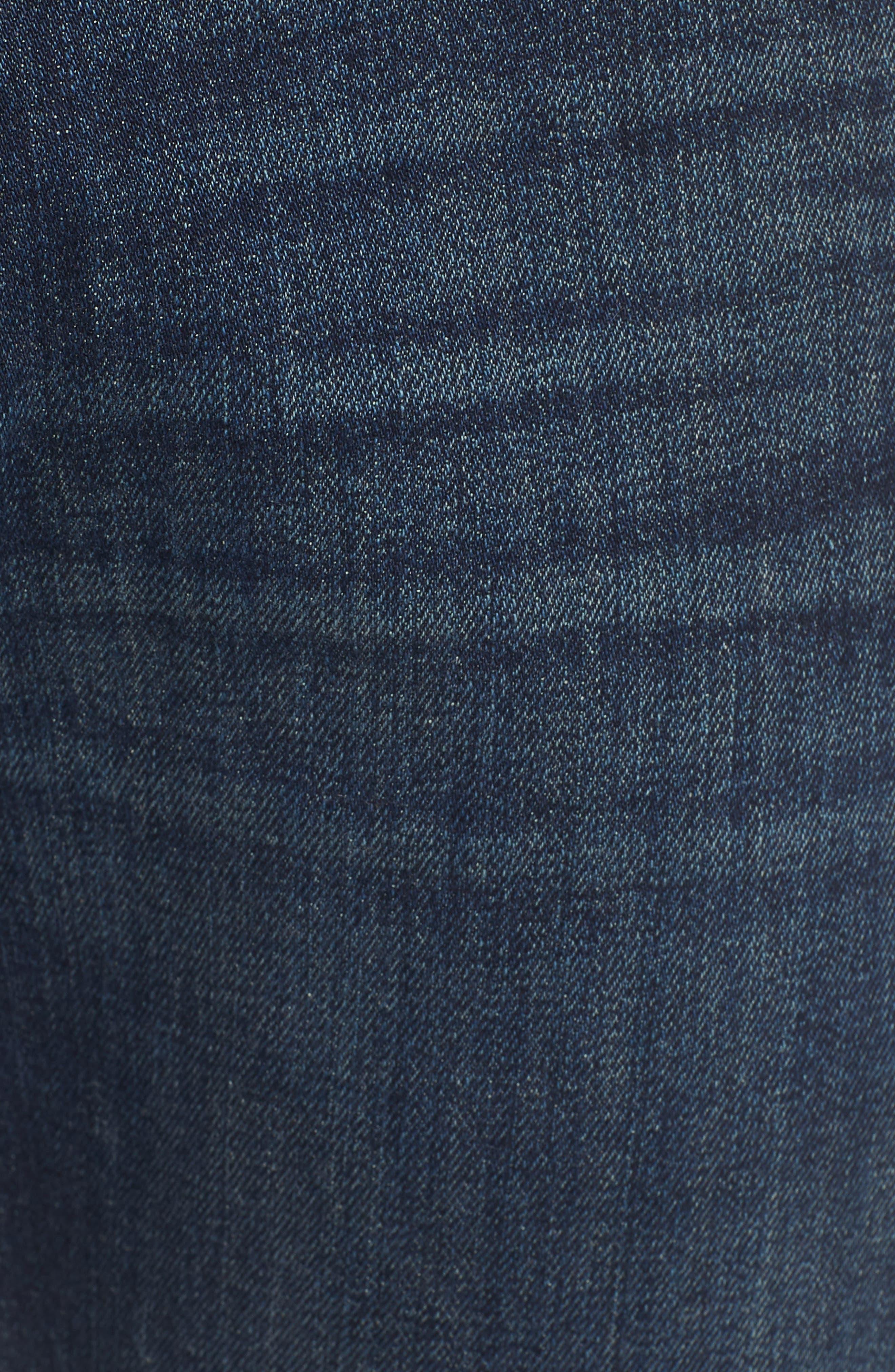 The Straight Slim Straight Leg Jeans,                             Alternate thumbnail 5, color,                             Mark Lane