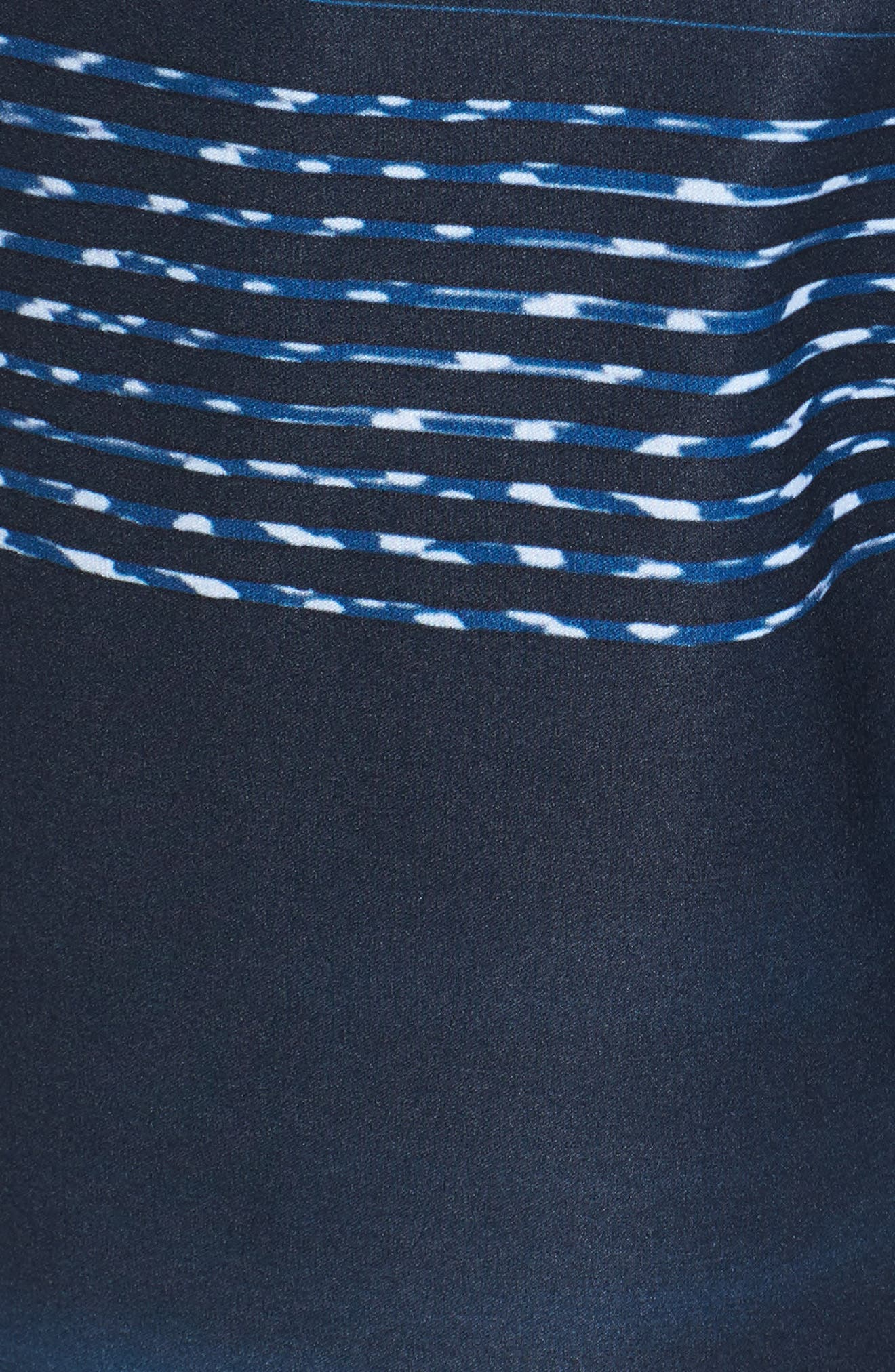 Hyperfreak Teevee Board Shorts,                             Alternate thumbnail 5, color,                             Navy