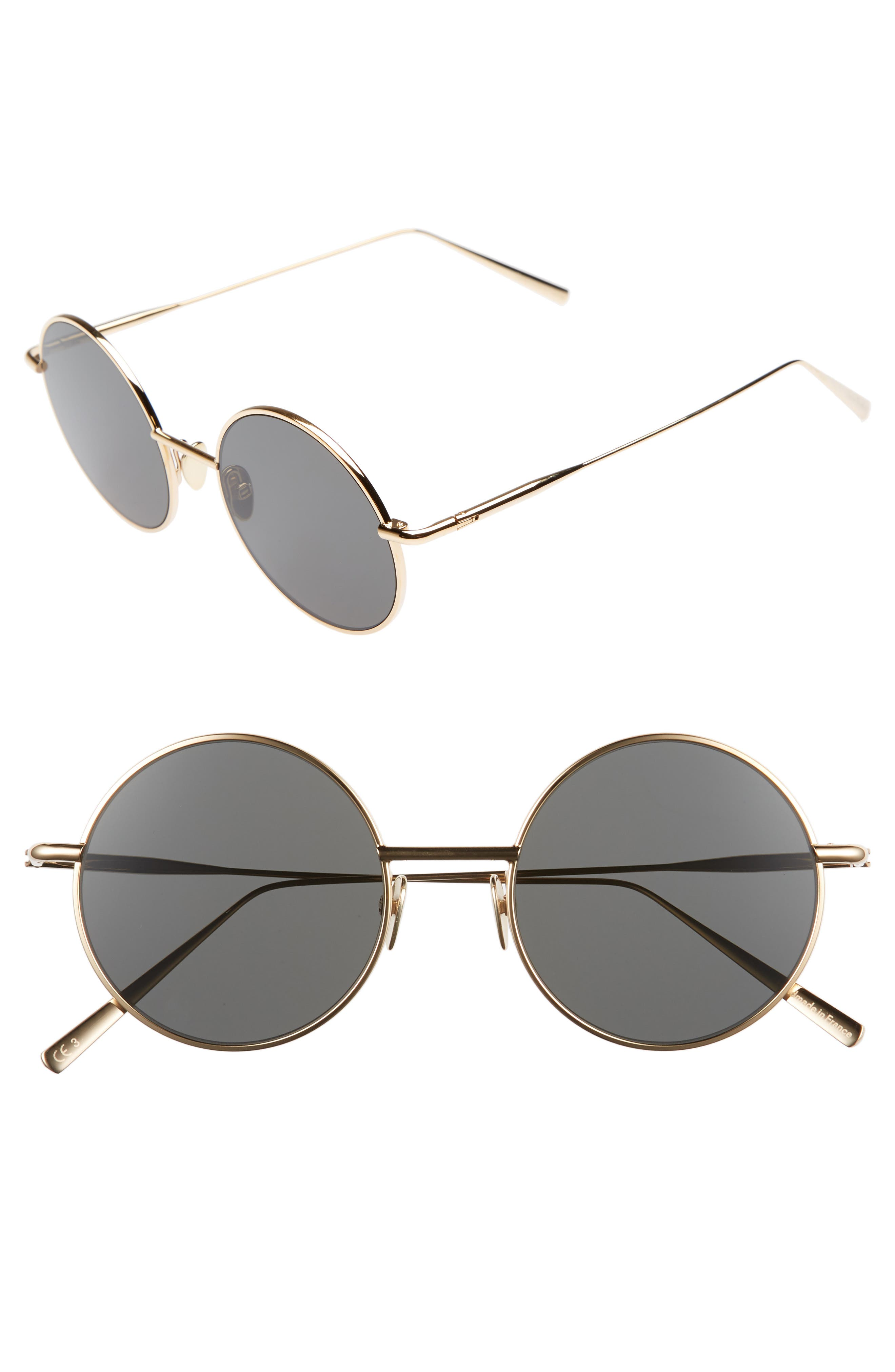 Acne Studios Scientist 50mm Round Sunglasses