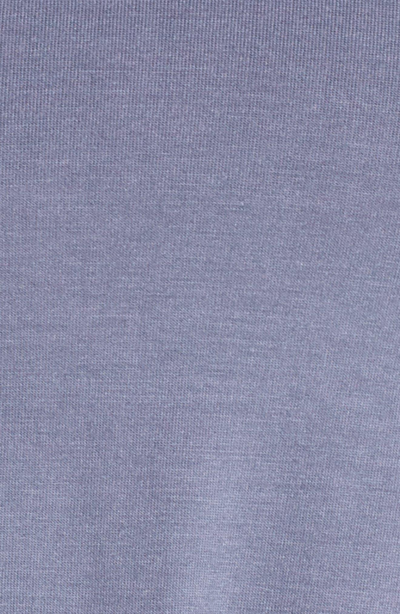 Crop Top,                             Alternate thumbnail 6, color,                             Slate Blue