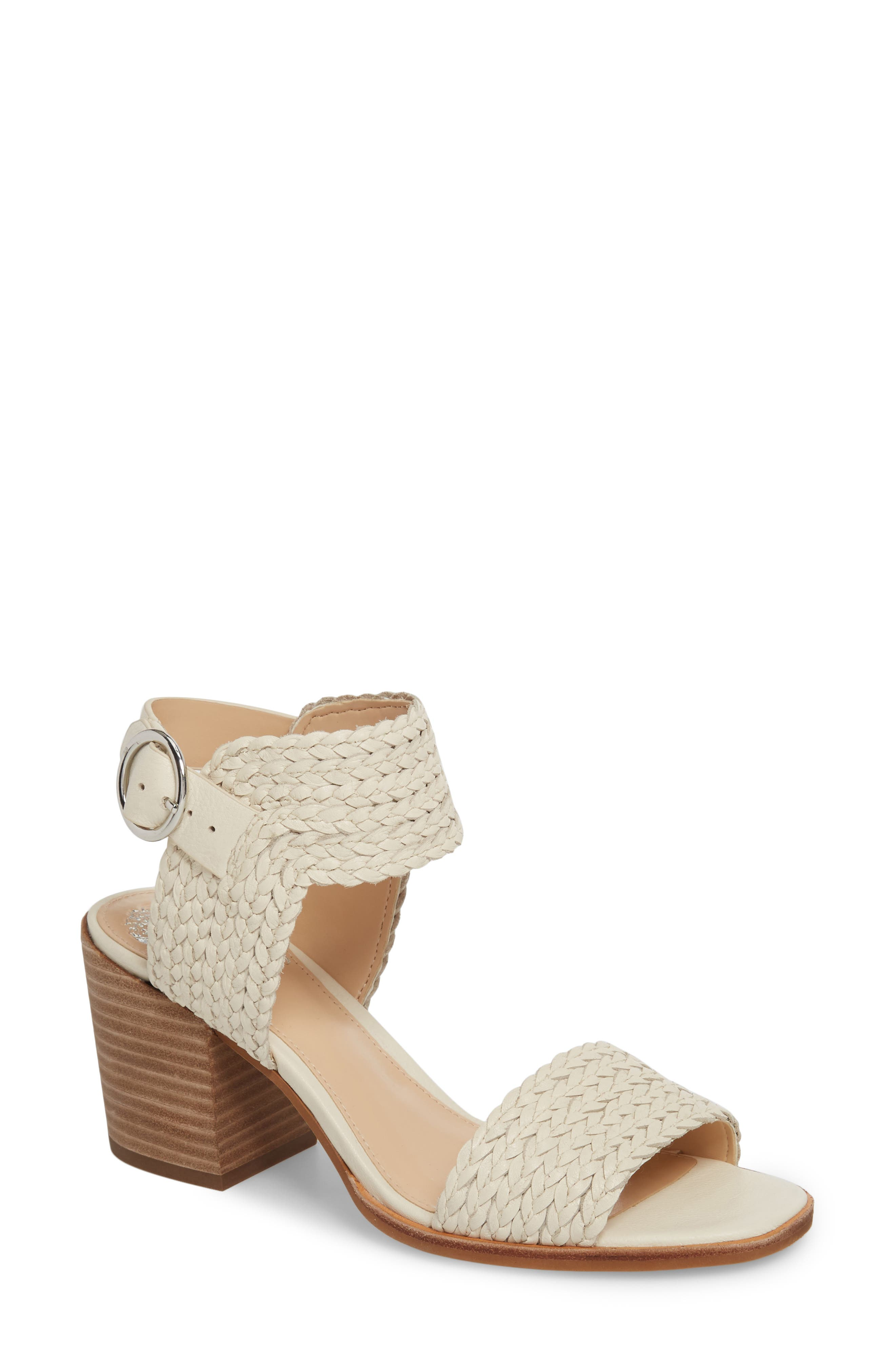 Kolema Sandal,                         Main,                         color, Vanilla Fabric