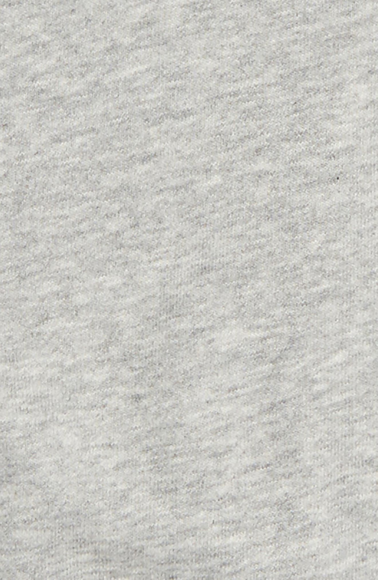 Flutter Sleeve Top,                             Alternate thumbnail 2, color,                             Heather Grey