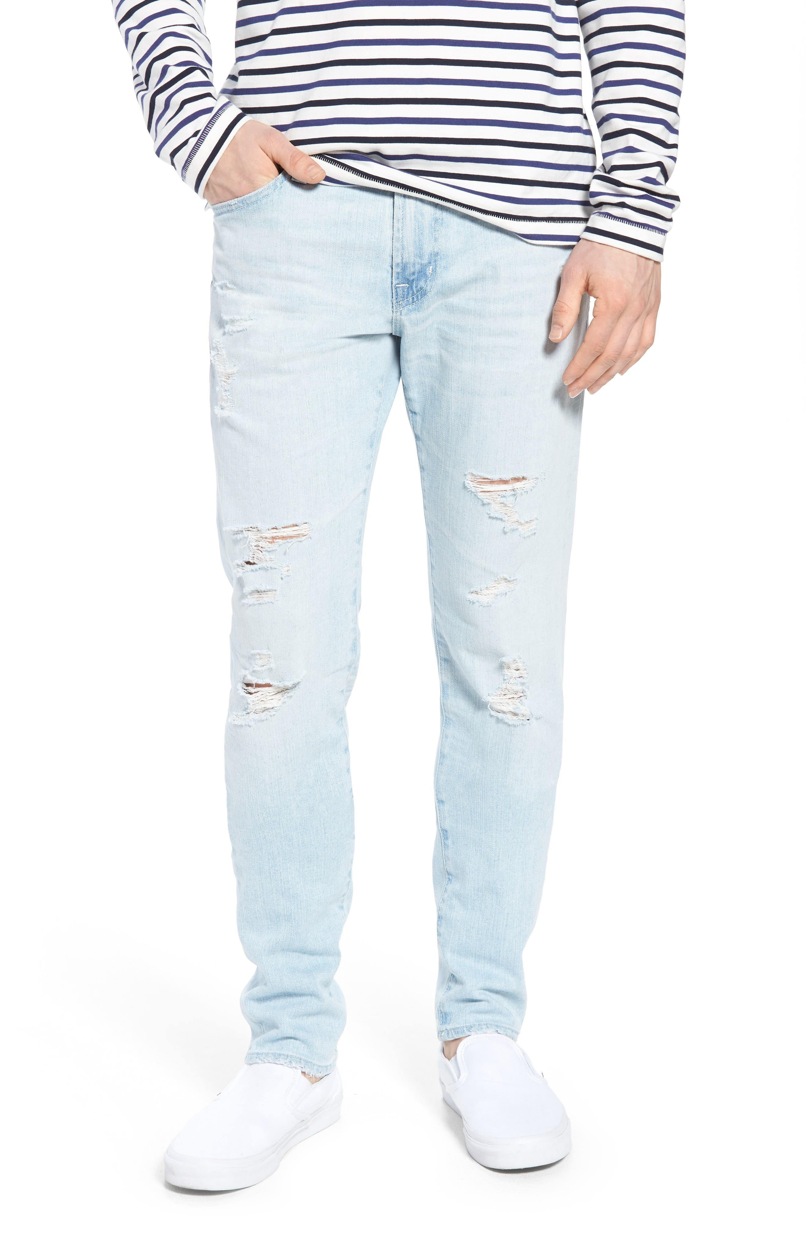 Dylan Skinny Fit Jeans,                         Main,                         color, 27 Years Surfrider