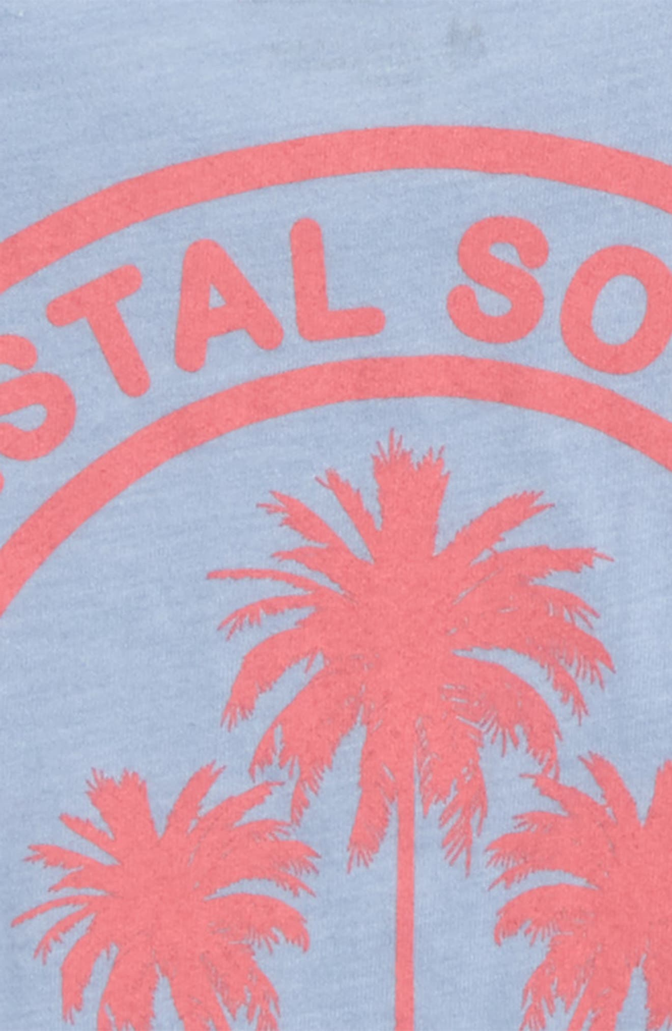 Coastal Society Graphic Tee,                             Alternate thumbnail 3, color,                             Eventide