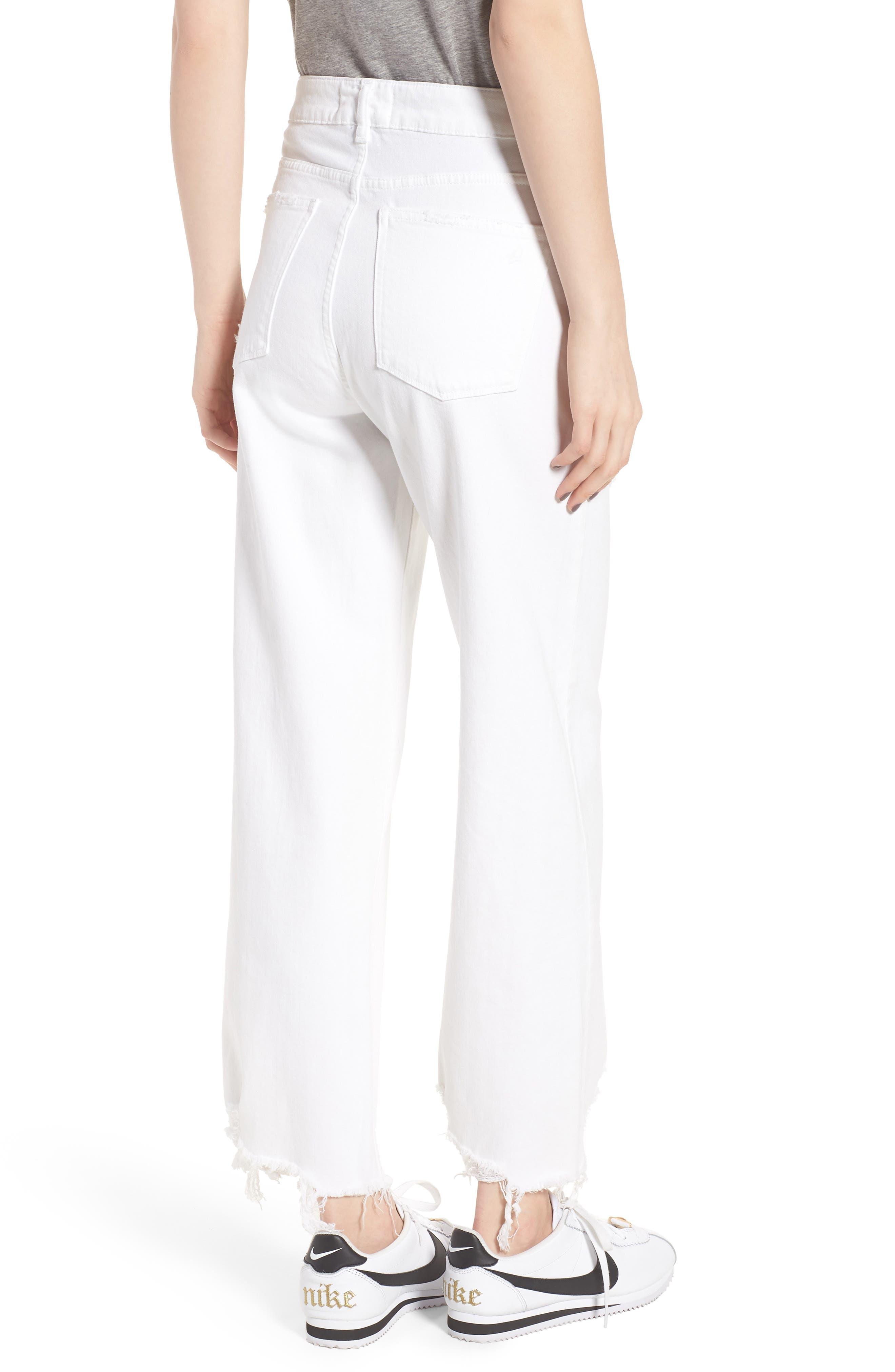 Hepburn High Waist Wide Leg Jeans,                             Alternate thumbnail 2, color,                             Sacramento