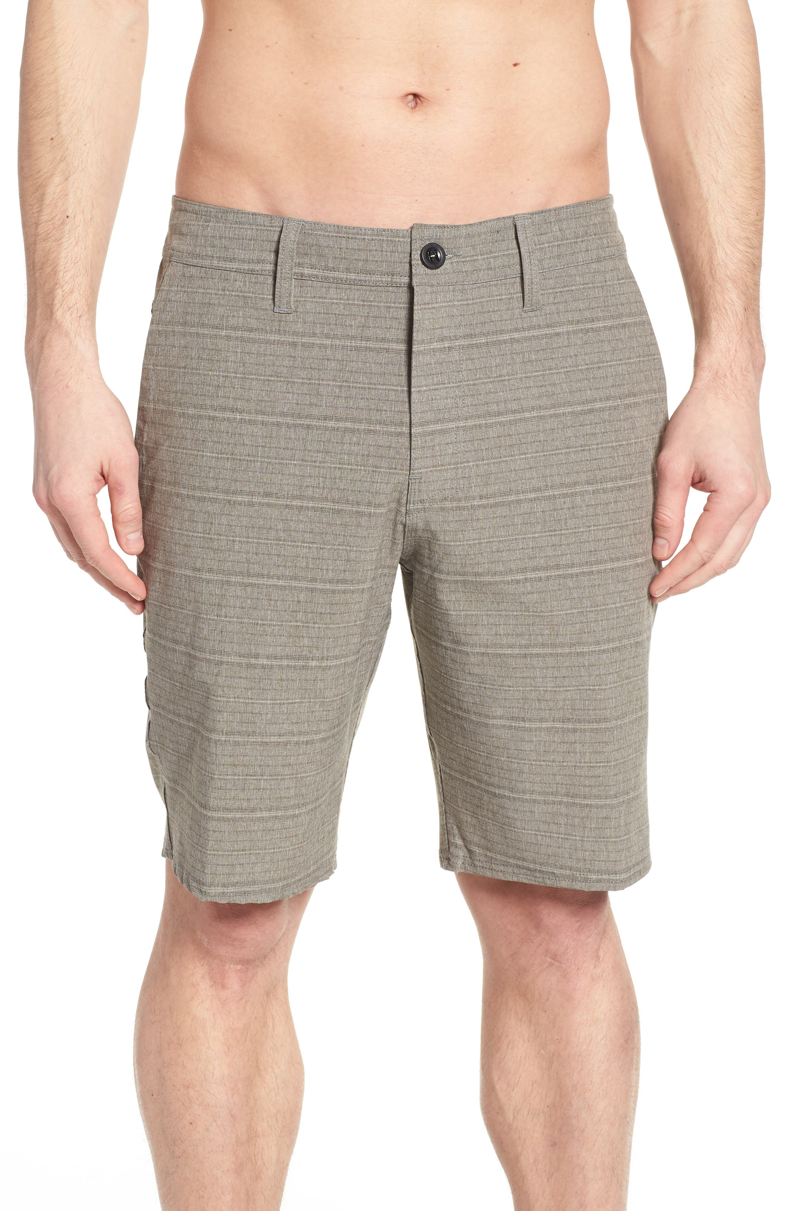 Alternate Image 4  - O'Neill Locked Stripe Hybrid Shorts