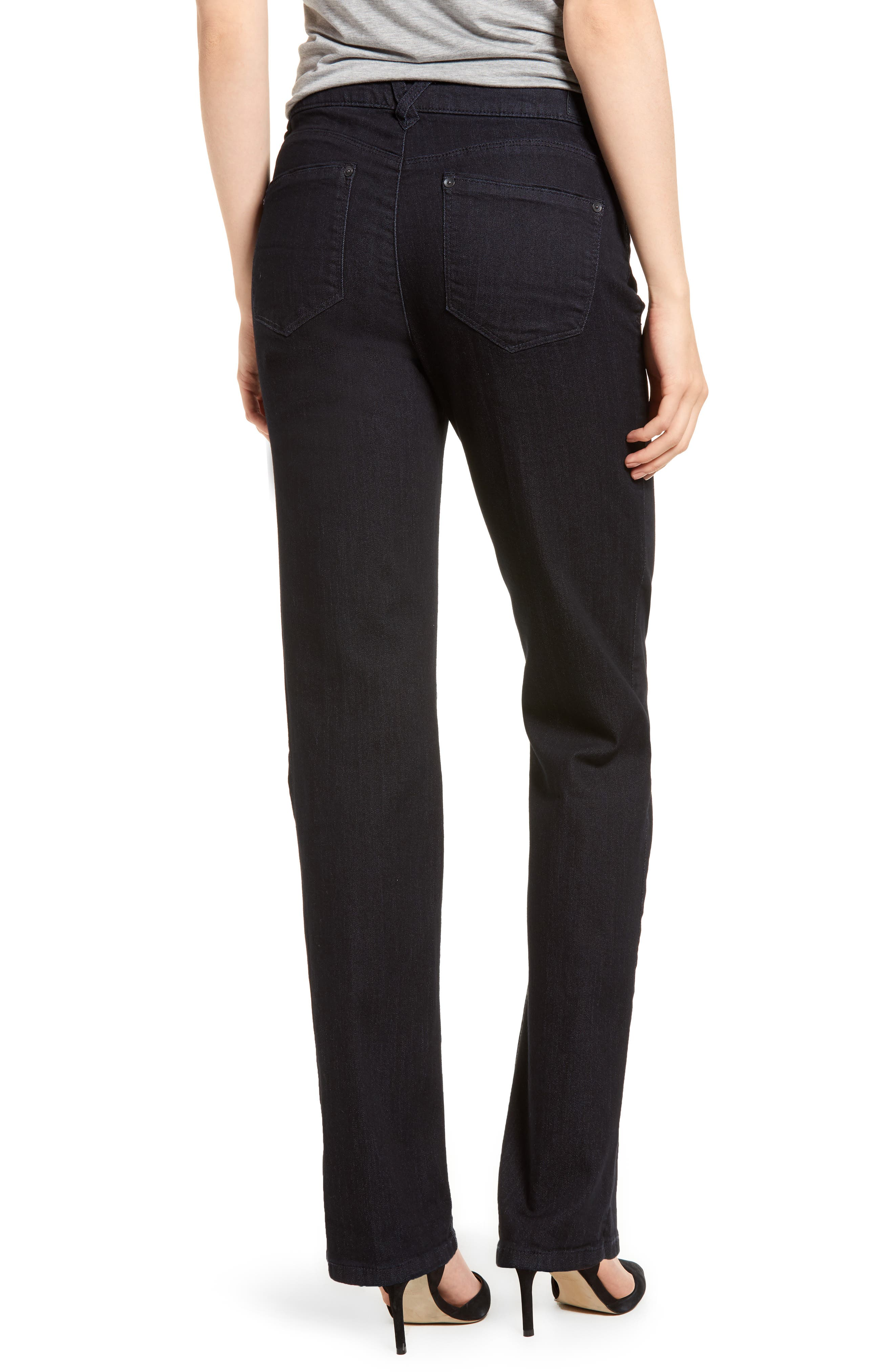 Classic High Waist Jeans,                             Alternate thumbnail 2, color,                             In-Indigo