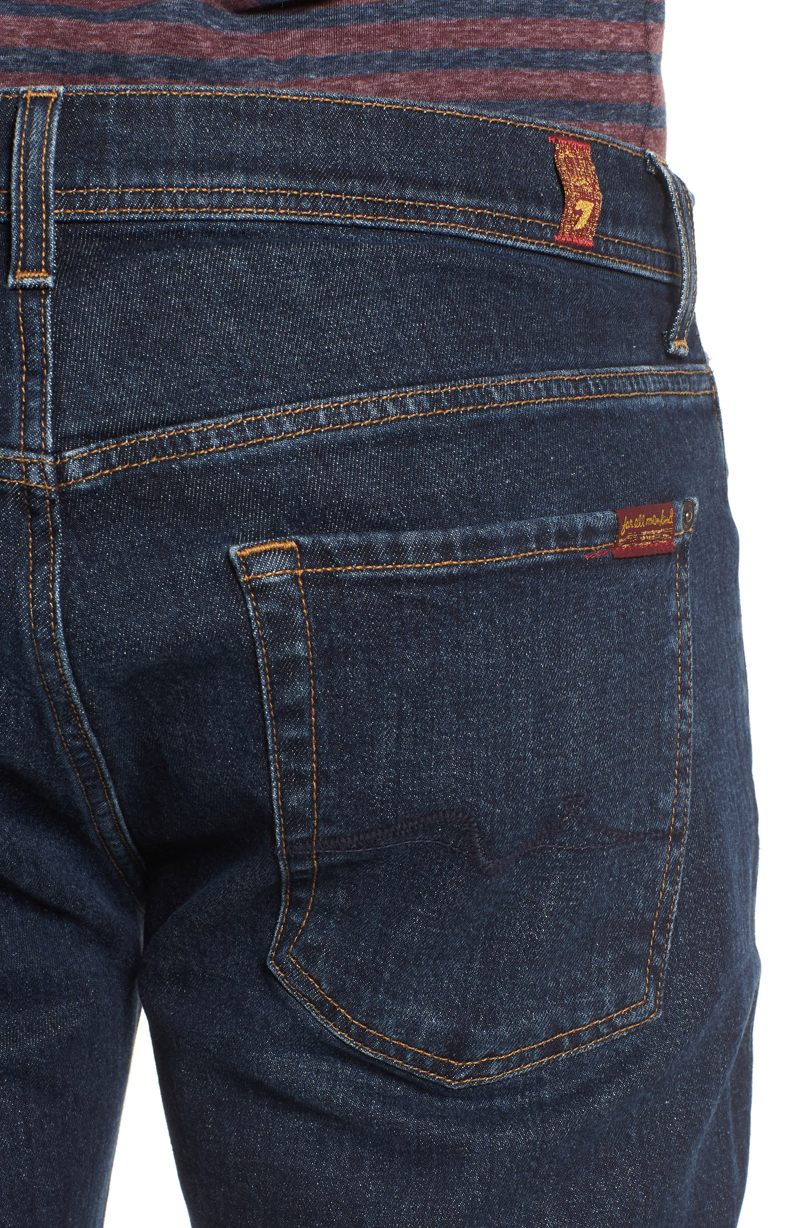 Brett Bootcut Jeans,                             Alternate thumbnail 4, color,                             Forfeit