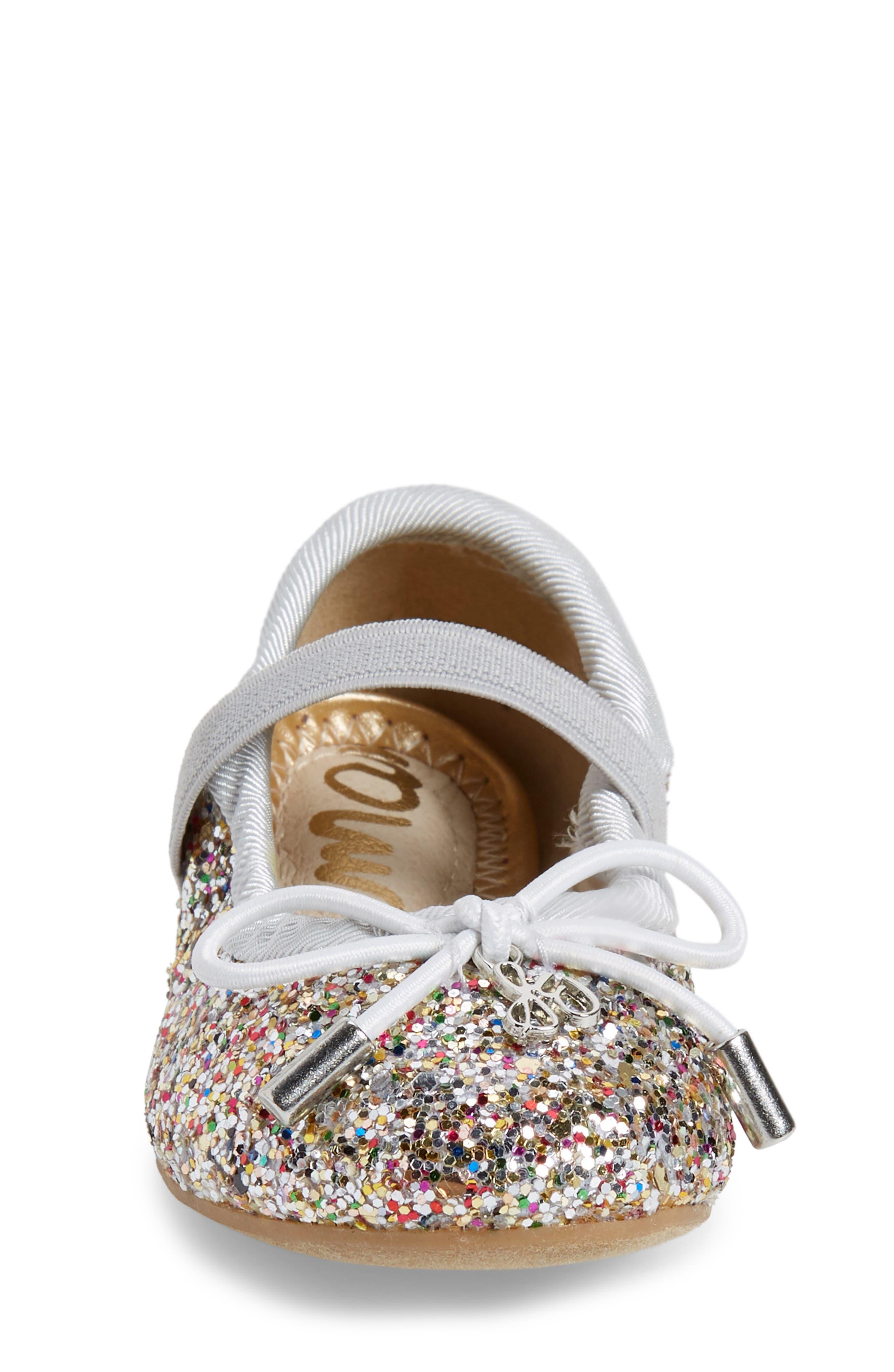 Alternate Image 4  - Sam Edelman 'Felicia' Mary Jane Ballet Flat (Toddler)