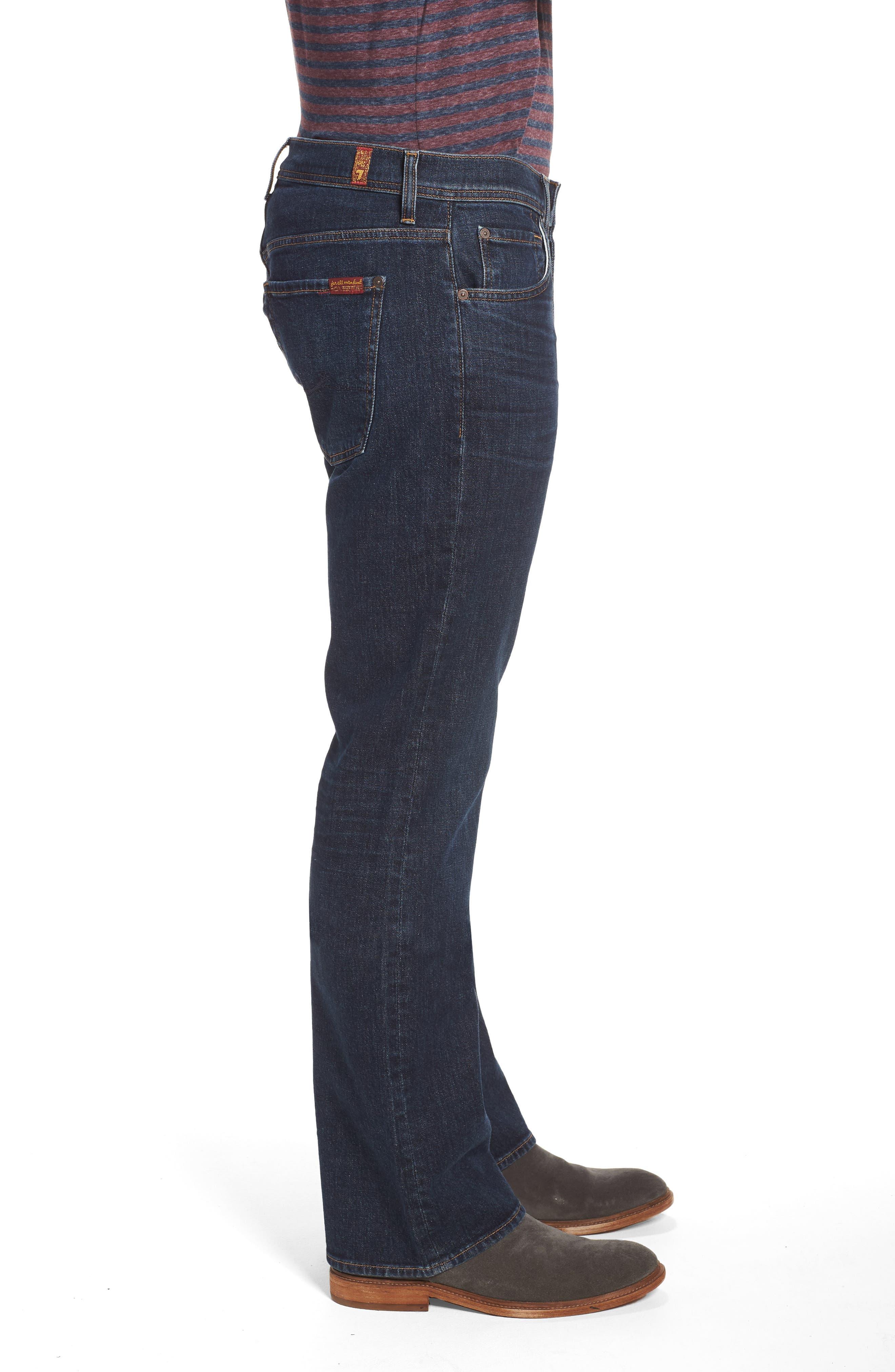 Brett Bootcut Jeans,                             Alternate thumbnail 3, color,                             Forfeit