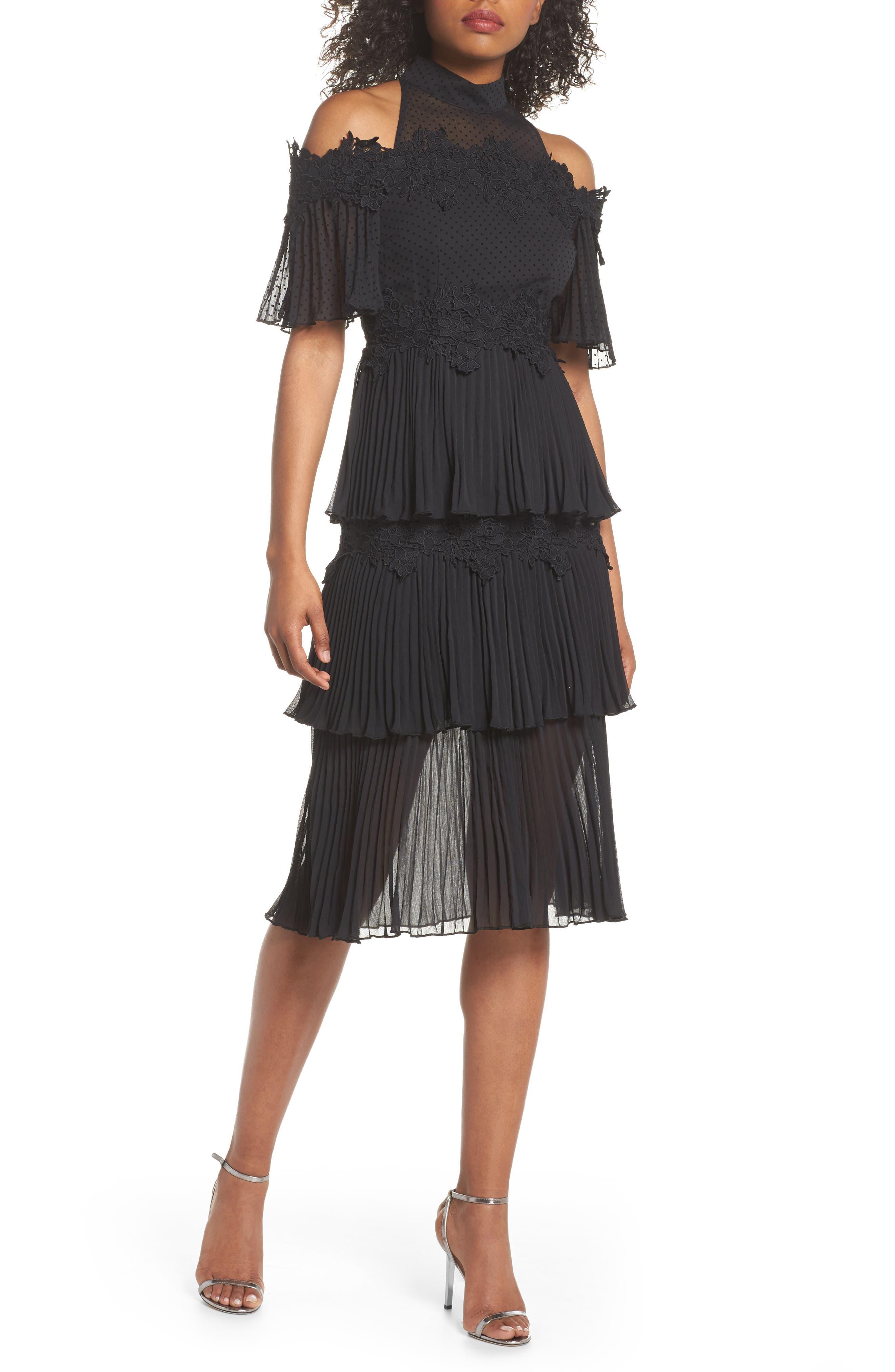 Keepsake the Label Horizons Cold Shoulder Dress