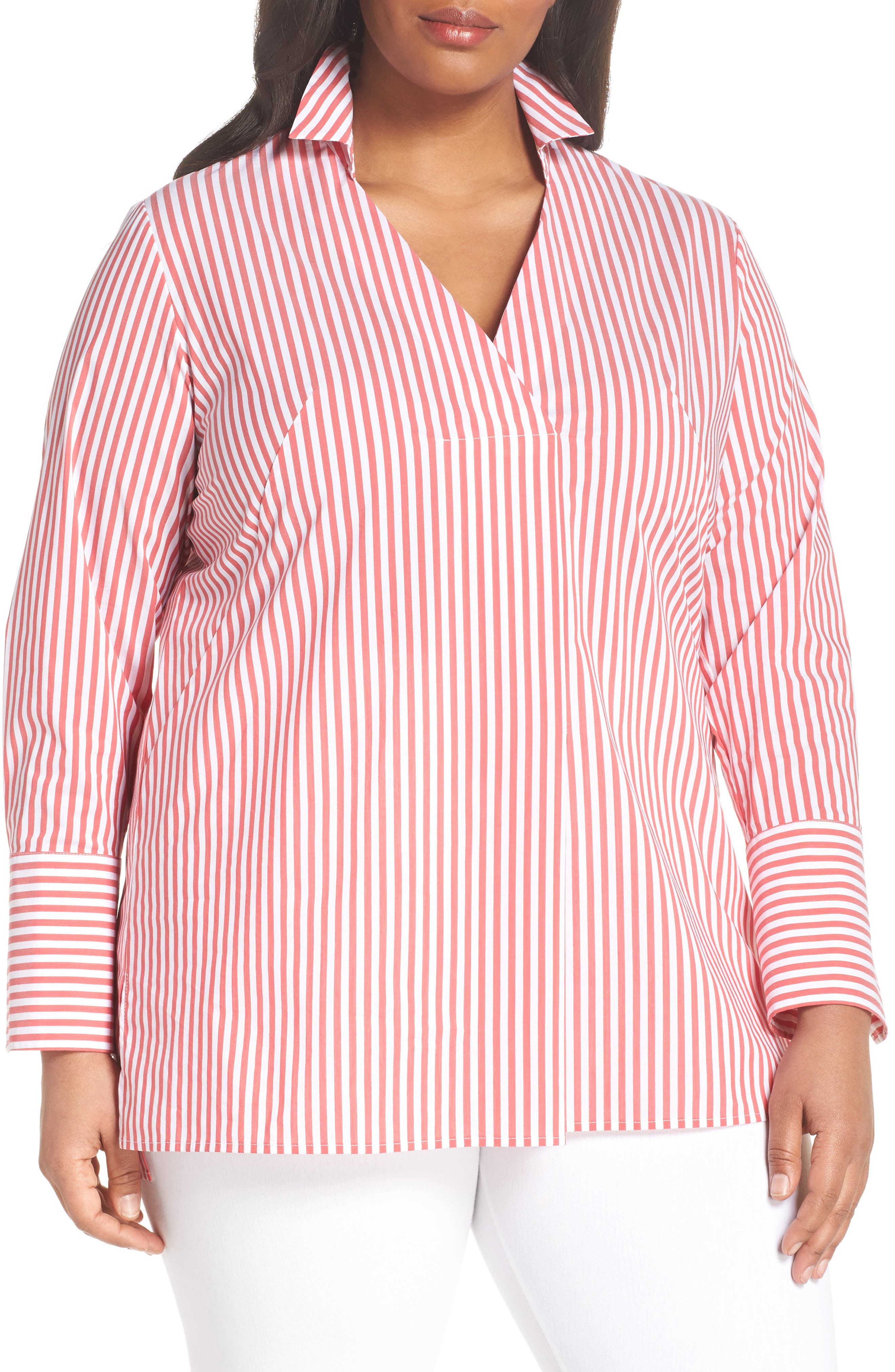Sejour Long Sleeve Tunic (Plus Size)