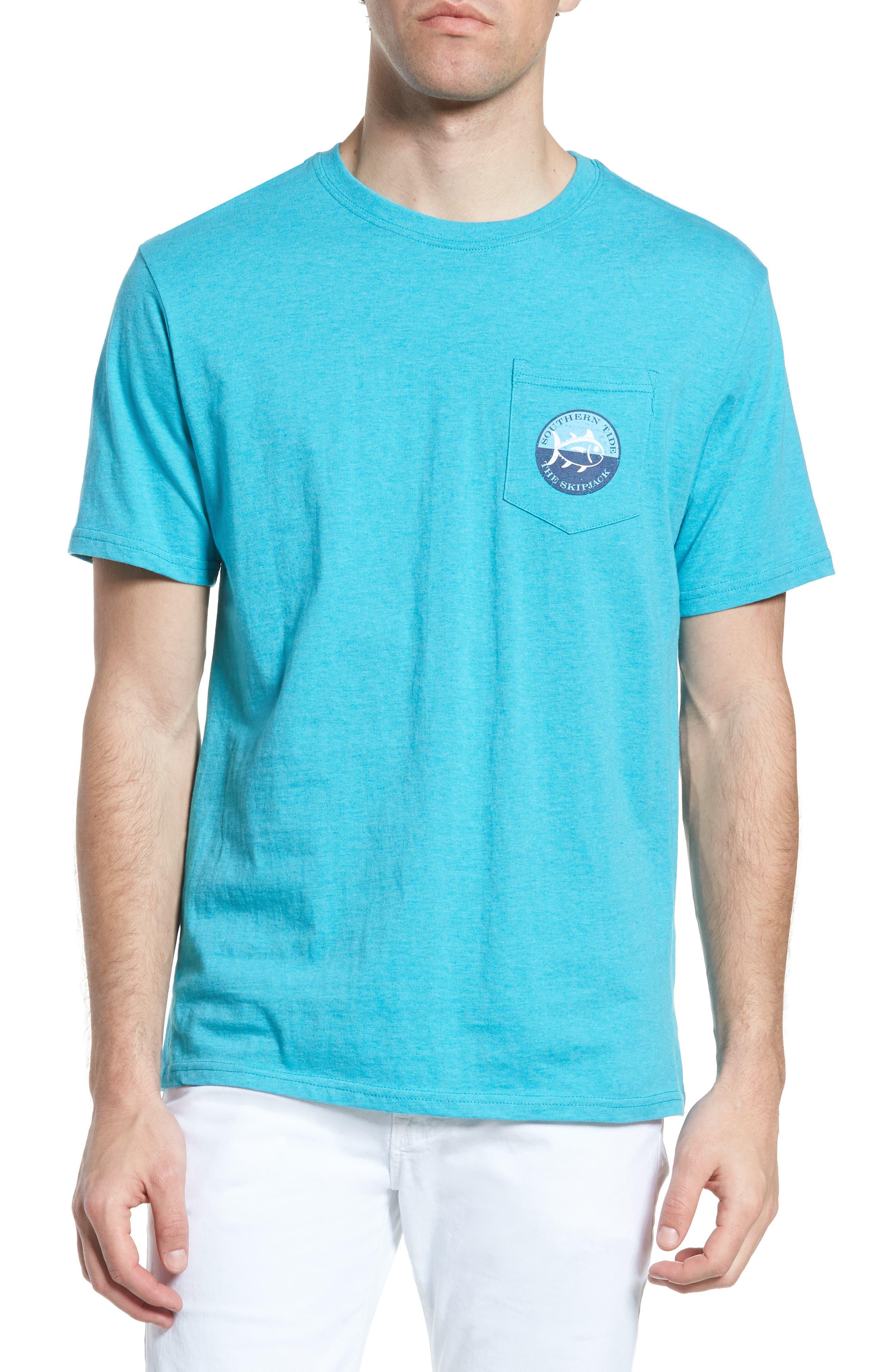Southern Tide Skipjack Stamp Crewneck T-Shirt