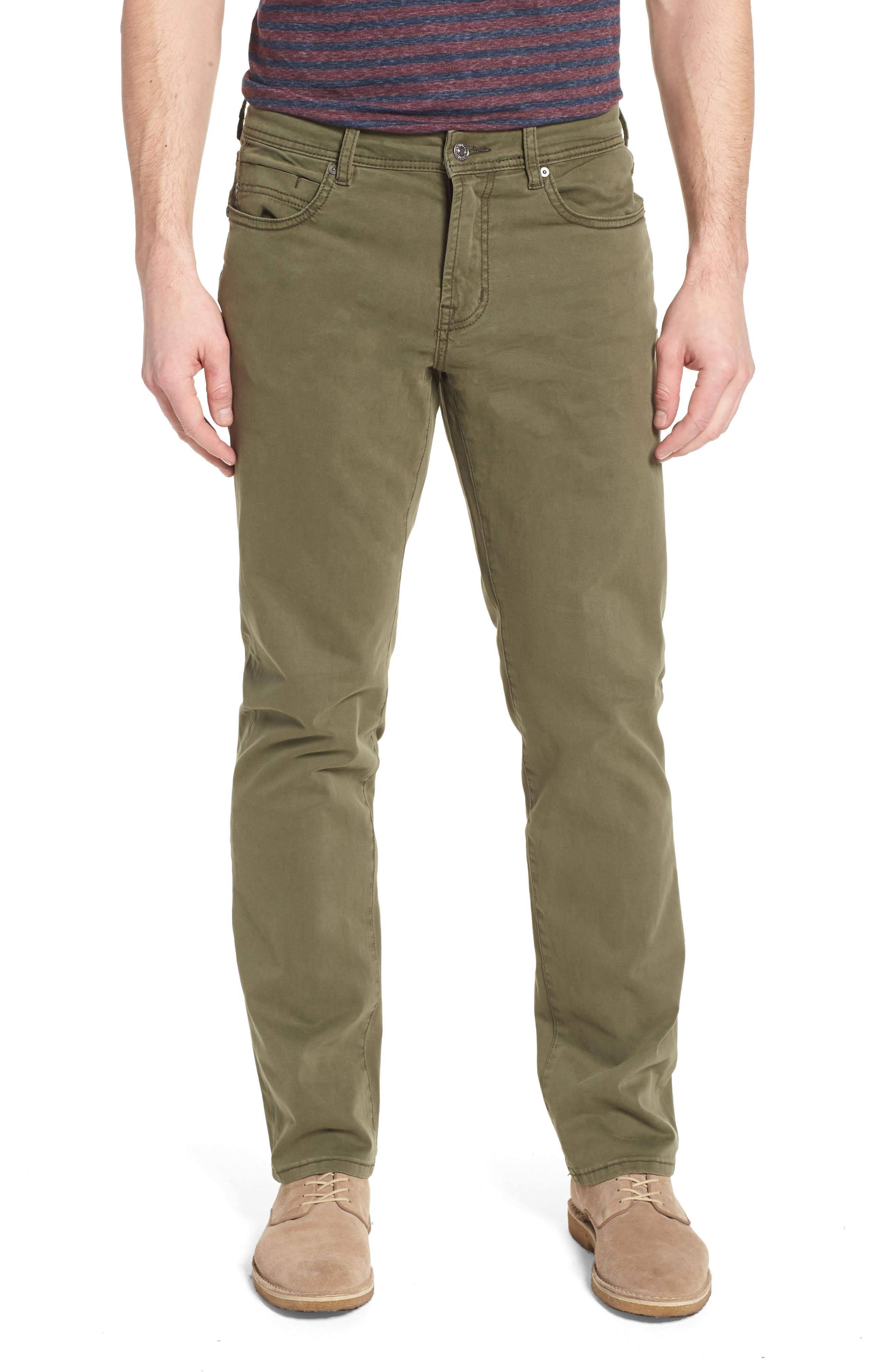 Liverpool Jeans Co. Regent Relaxed Fit Jeans (Olive Night)