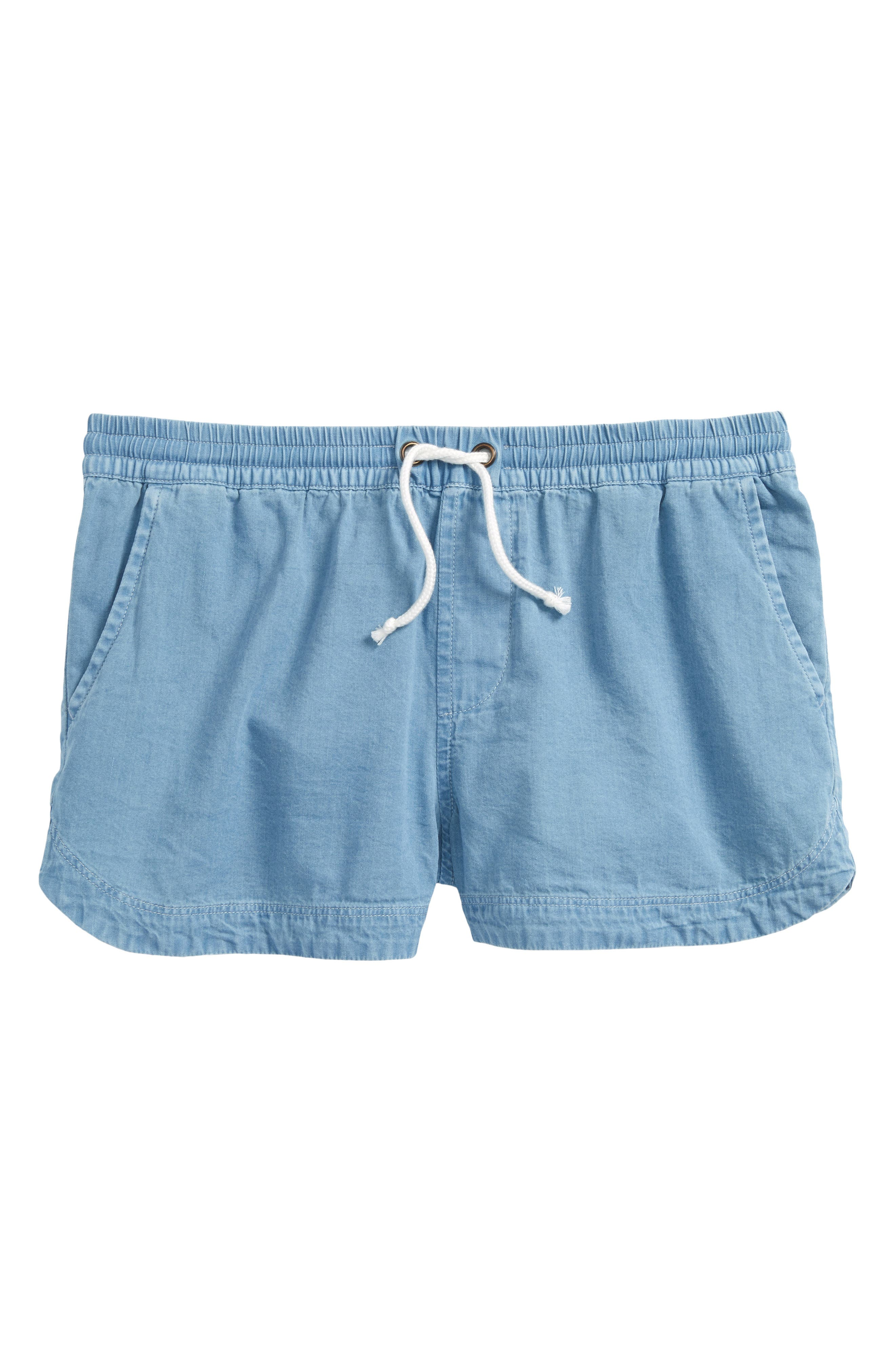 Easy Shorts,                         Main,                         color, Blue Sky Wash