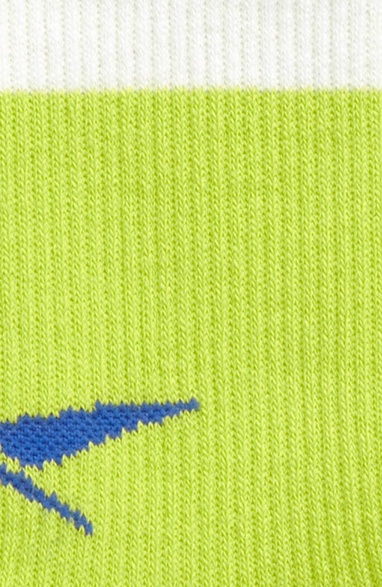 Metal Crew Socks,                             Alternate thumbnail 2, color,                             Yellow