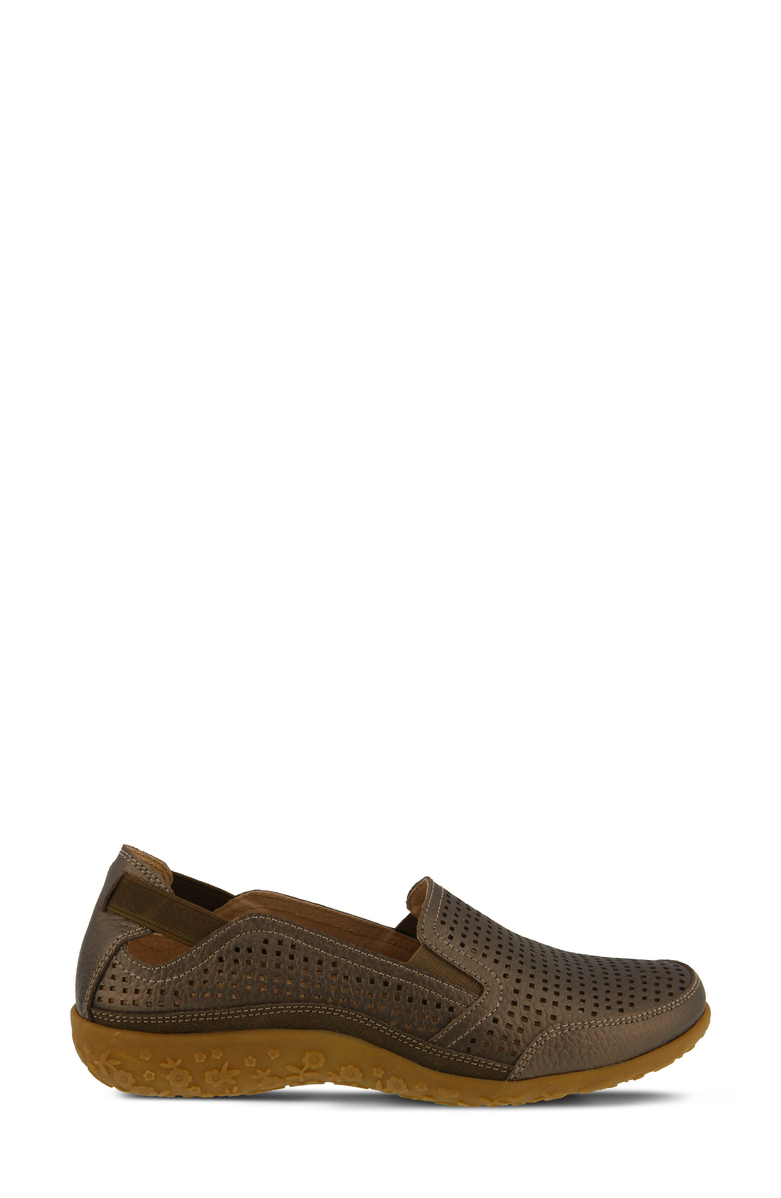 Juhi Loafer,                             Alternate thumbnail 3, color,                             Bronze Leather
