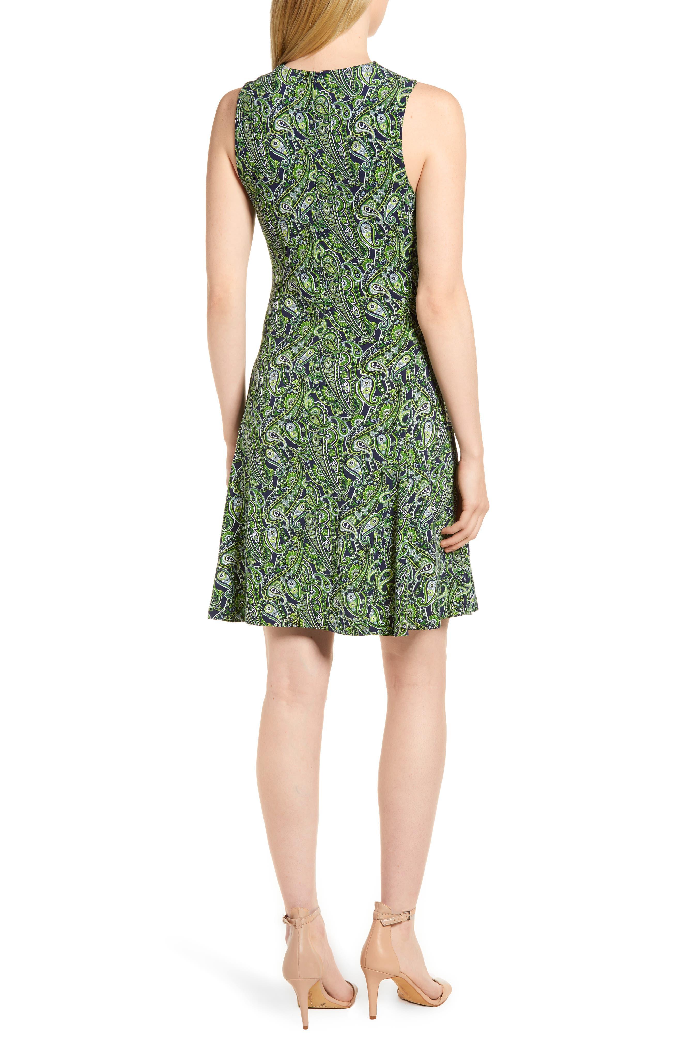 Alternate Image 2  - MICHAEL Michael Kors Paisley Paradise Fit & Flare Dress