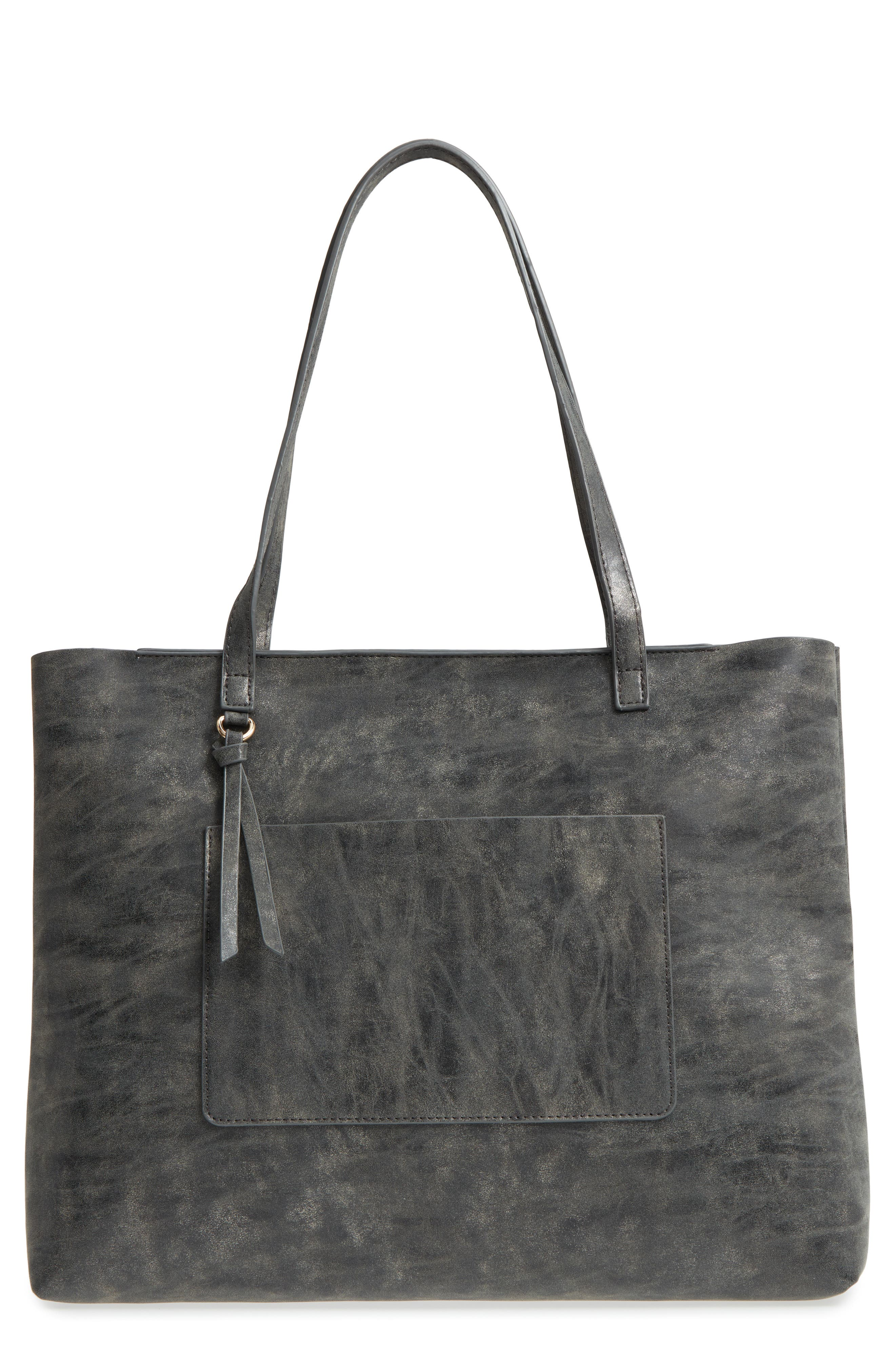 Tote,                             Main thumbnail 1, color,                             Grey