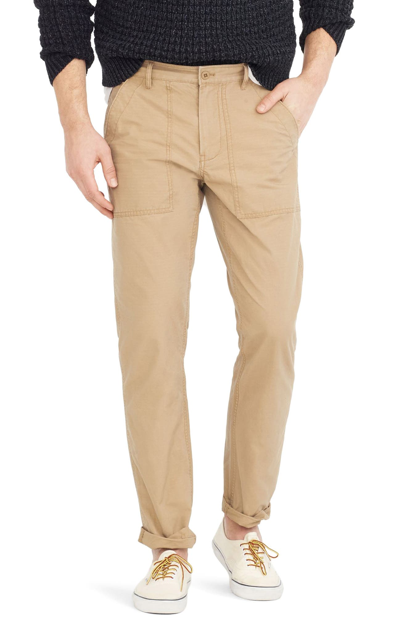 J.Crew 770 Straight Fit Ripstop Camp Pants