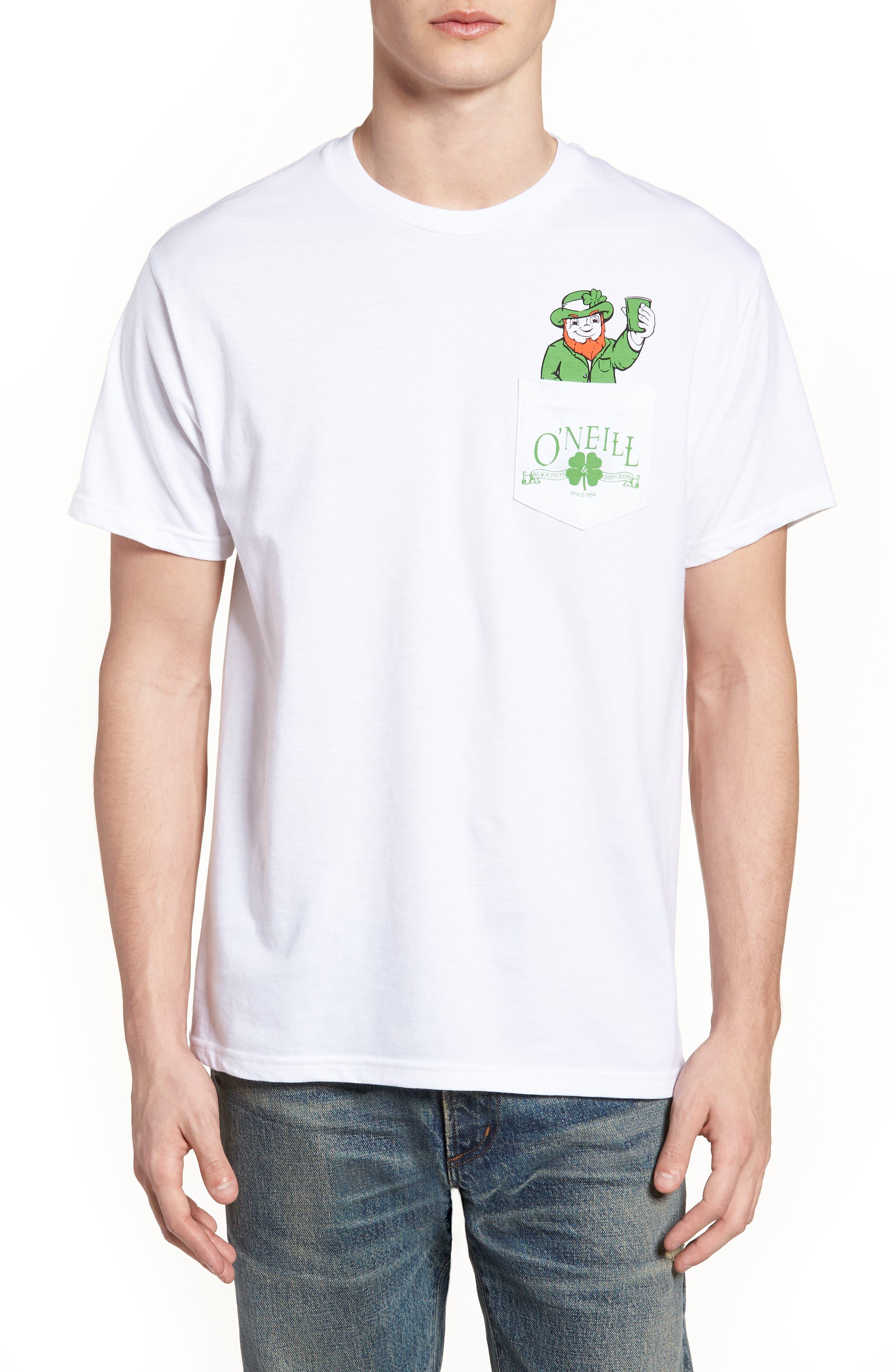 Shinanigans Graphic T-Shirt,                             Main thumbnail 1, color,                             White