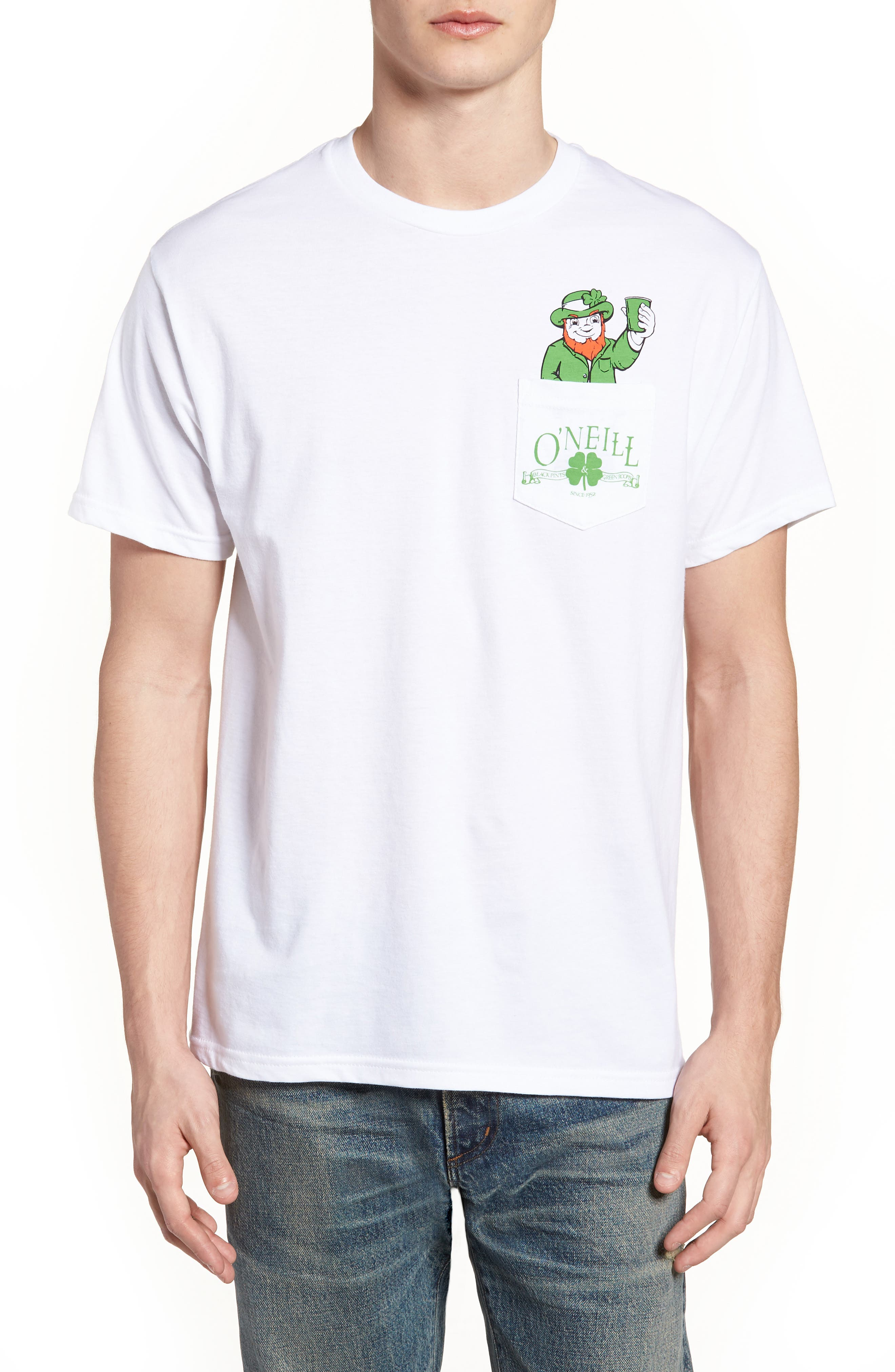 Shinanigans Graphic T-Shirt,                         Main,                         color, White
