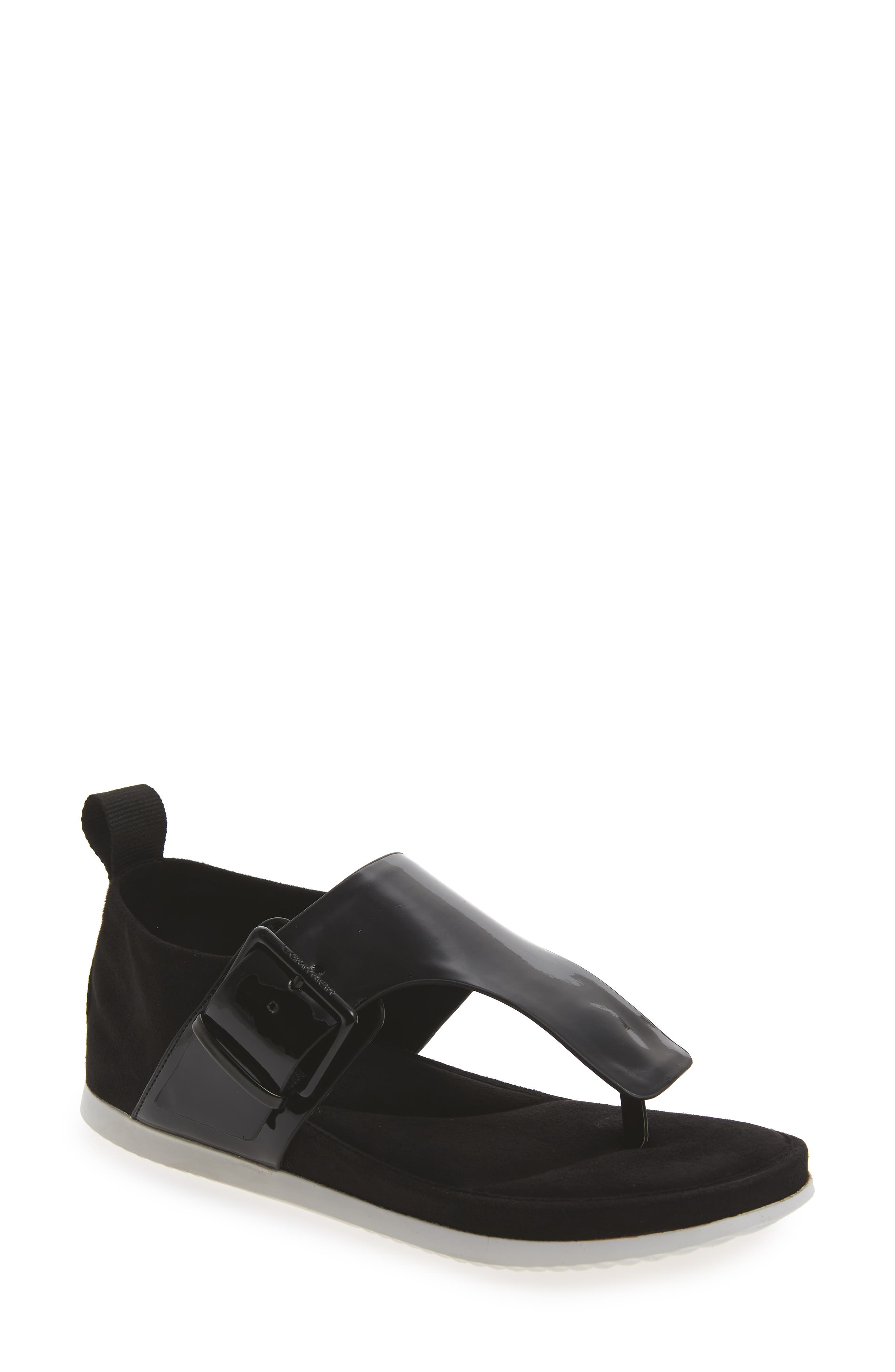 Dionay Wedge Sandal,                         Main,                         color, Black Patent