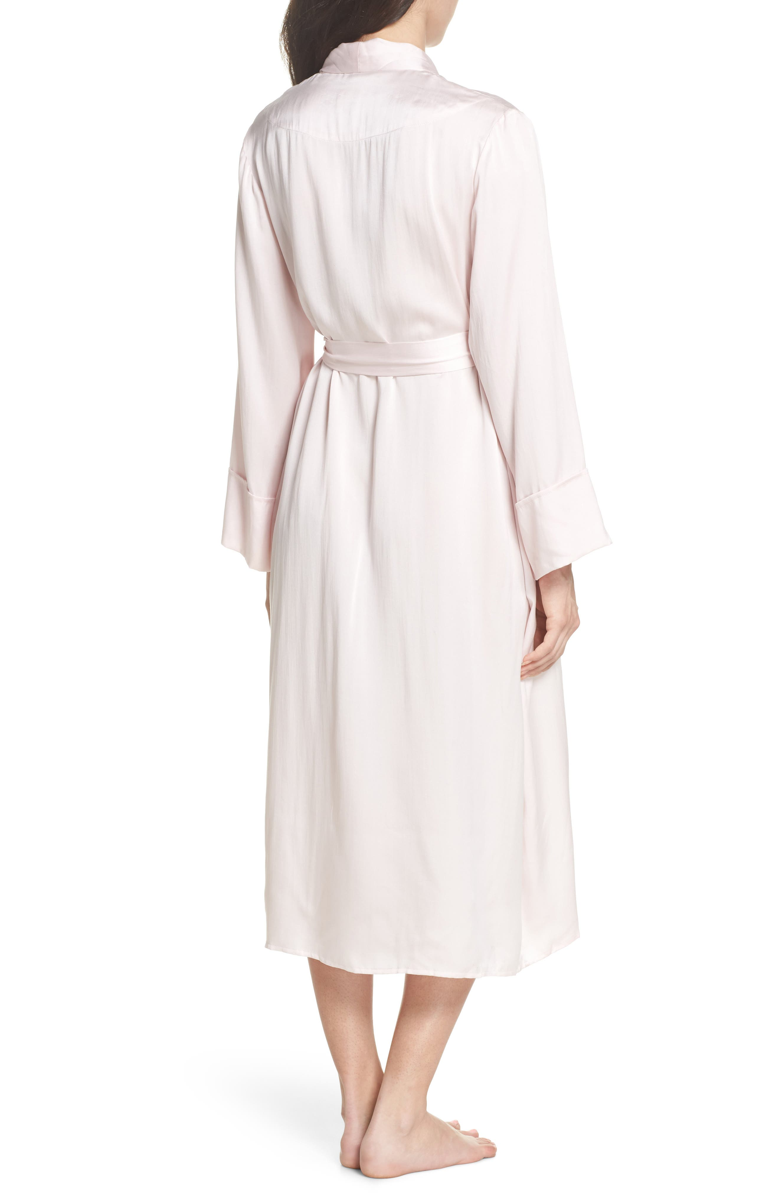 Alternate Image 2  - Papinelle Silk Robe
